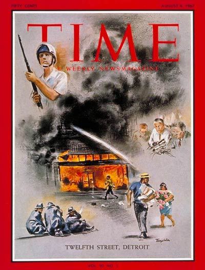 The August 4, 1967, cover of TIME