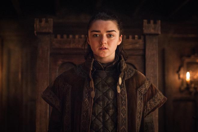 Maisie Williams in Game of Thrones