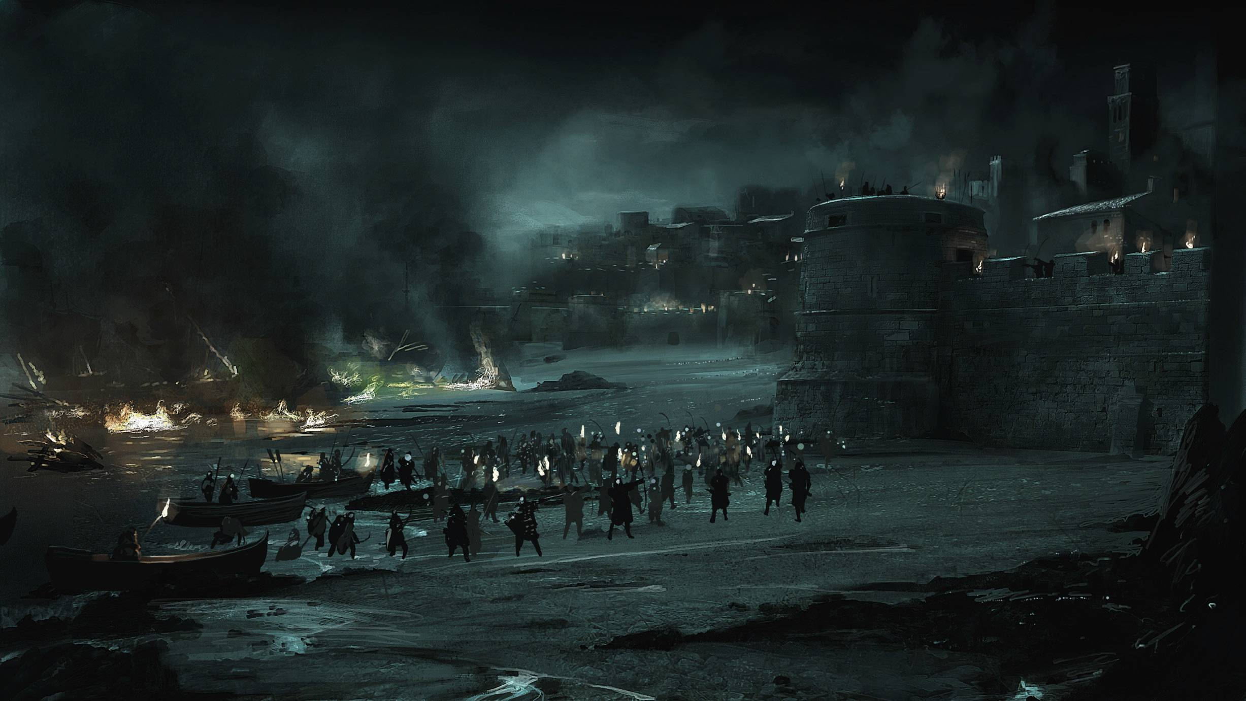 Blackwater in 'Game of Thrones.' HBO.
