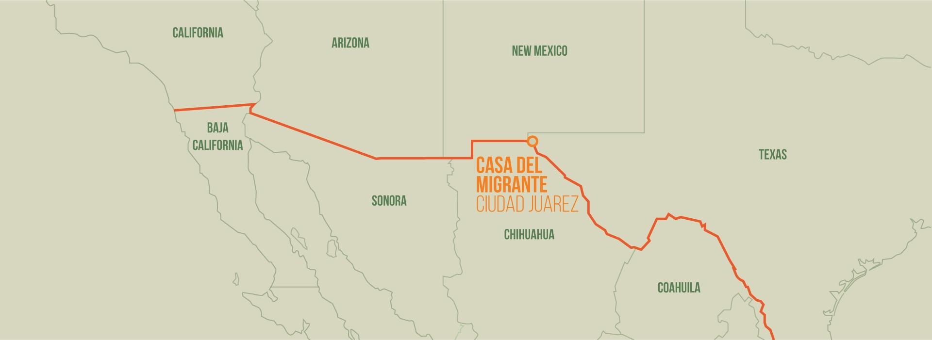 Casa del Migrante, Ciudad Juarez, Chihuahua, Mexico. Mallory Short—The Drive