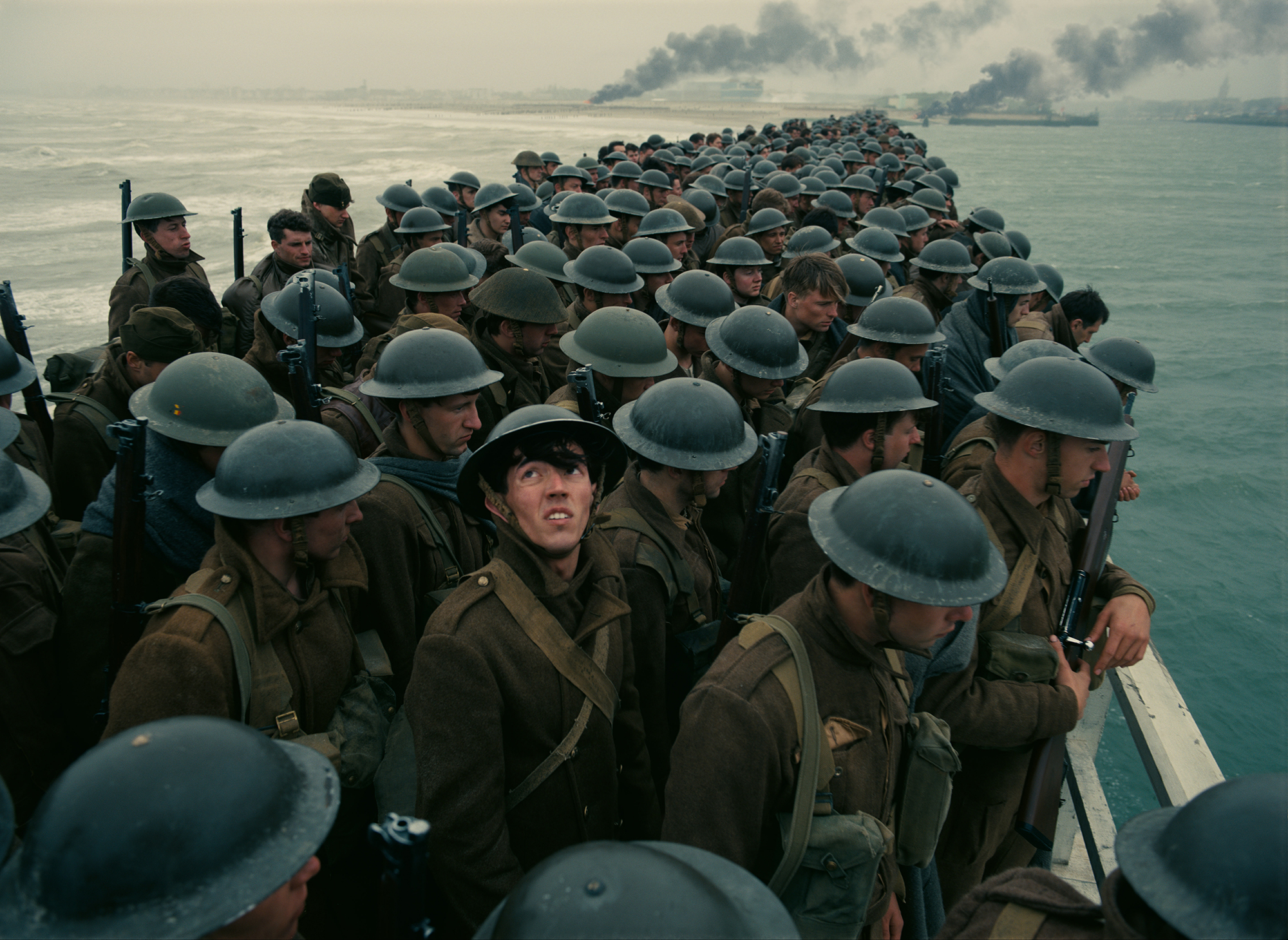 Dunkirk, out July 21, is director Christopher Nolan's tenth feature