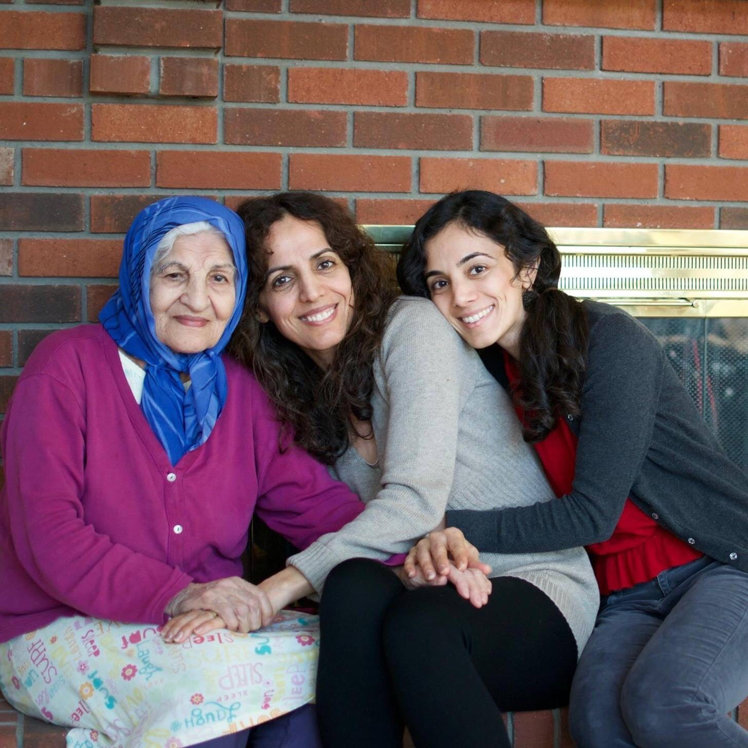 Hamideh Seyed Ali (grandmother), 79, Noushin Farasati (mother), 52, Maryam Khatami (sister), 32.