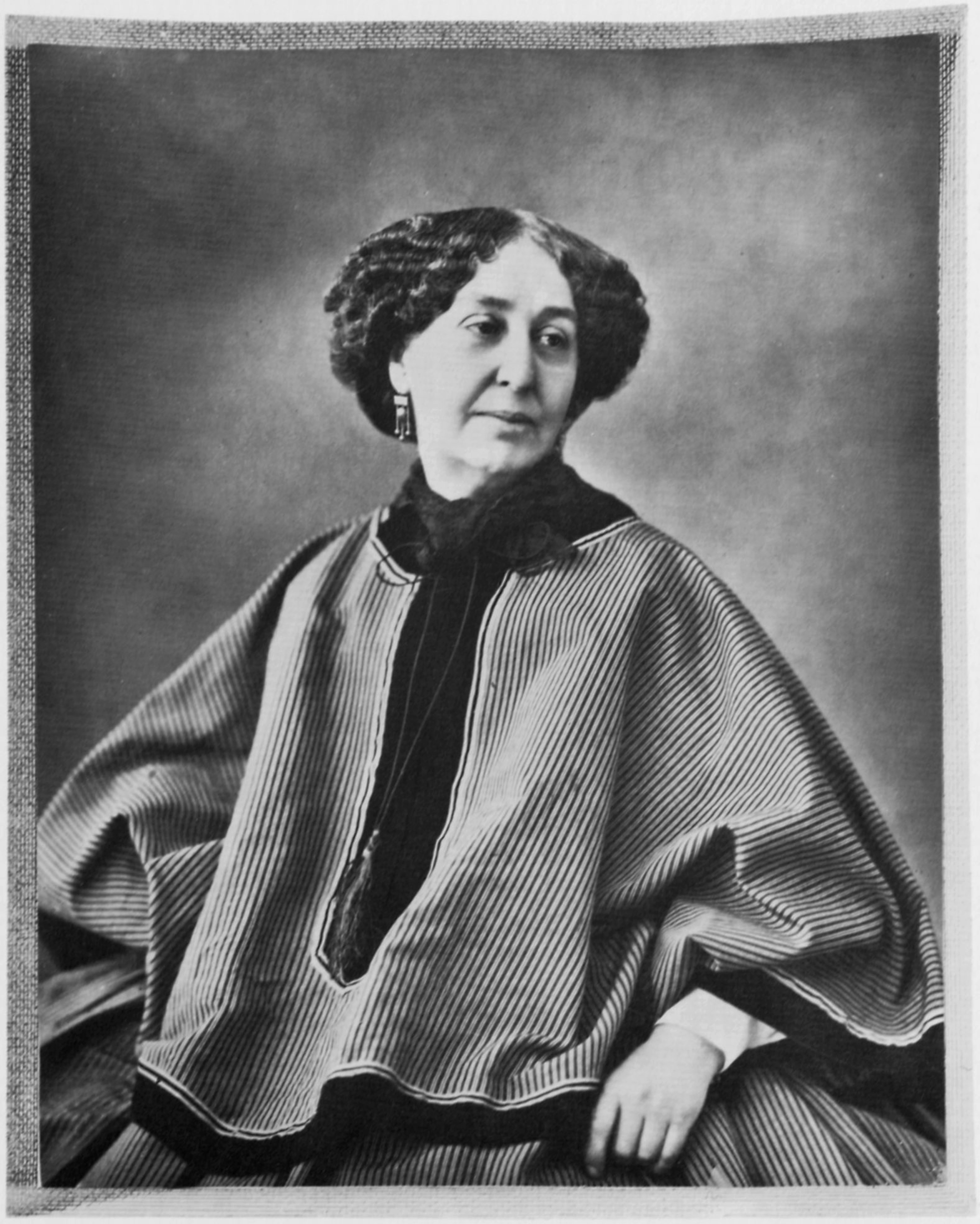 One of Nadar's many portraits of George Sand