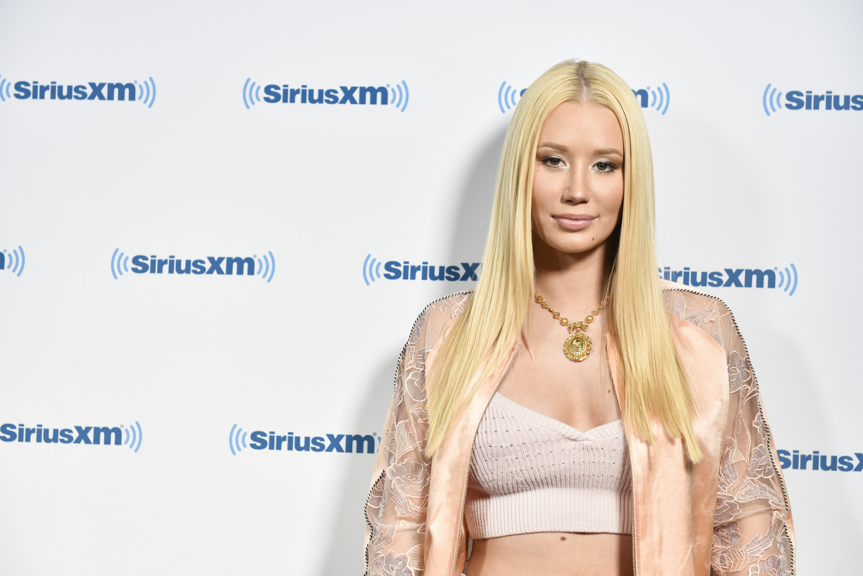 Iggy Azalea visits  Hits 1 In Hollywood  on SiriusXM Hits 1 Channel at The SiriusXM Studios In Los Angeles on May 18, 2017 in Los Angeles, California.