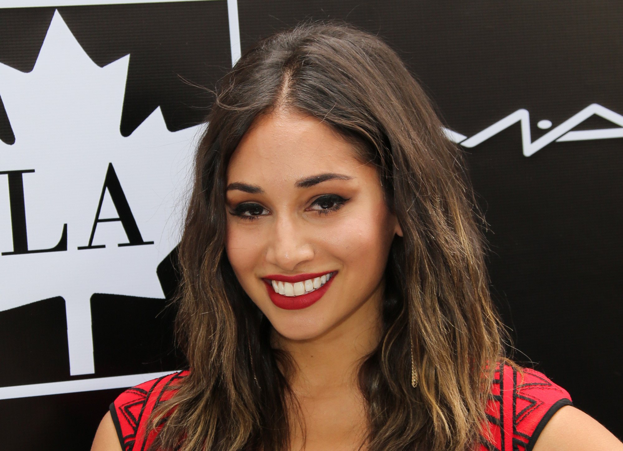 Meaghan Rath arrives at the 2015 Golden Maple Awards.