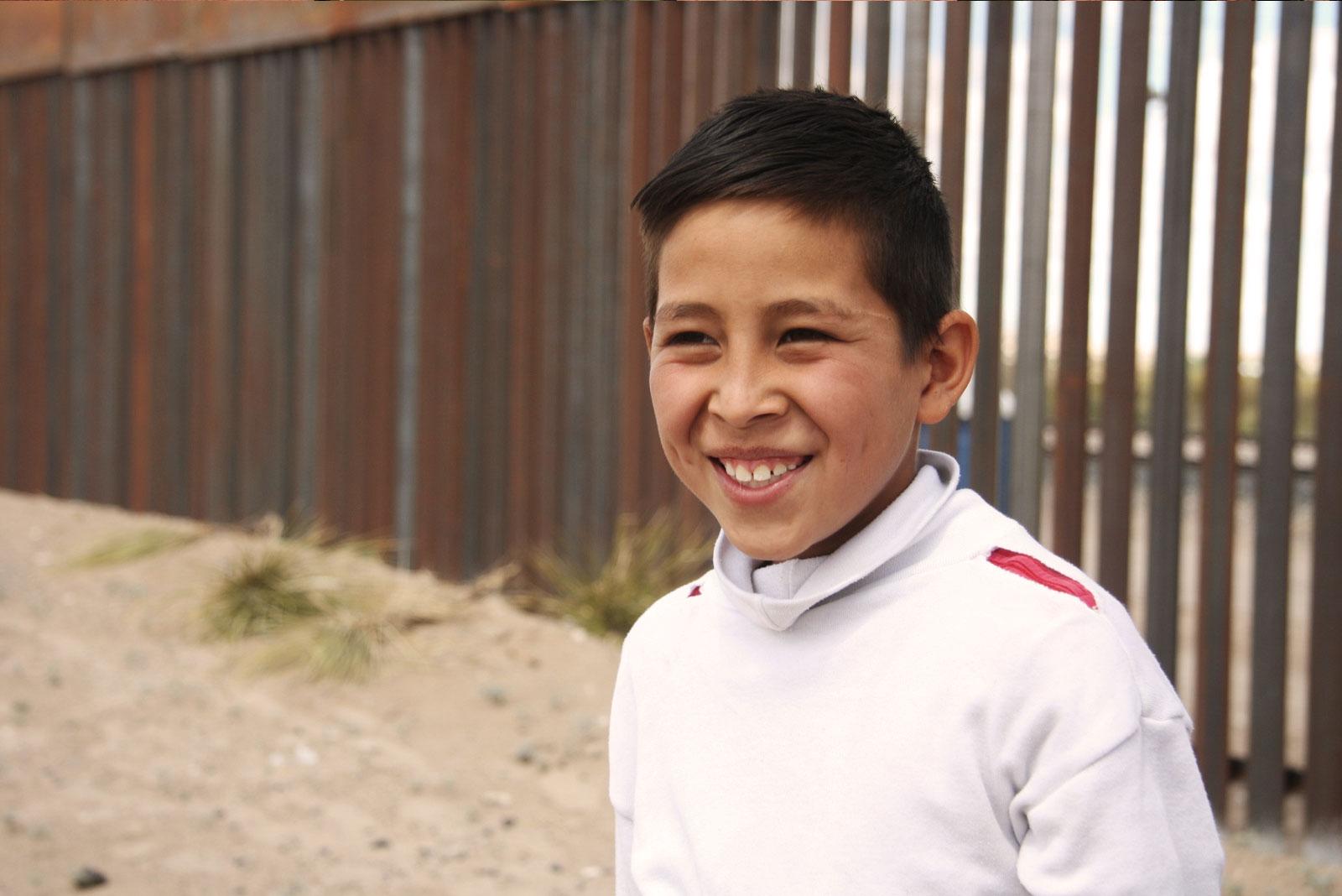 10-year-old Brian Martinez, an apprentice coyote. Benjamin Preston—The Drive