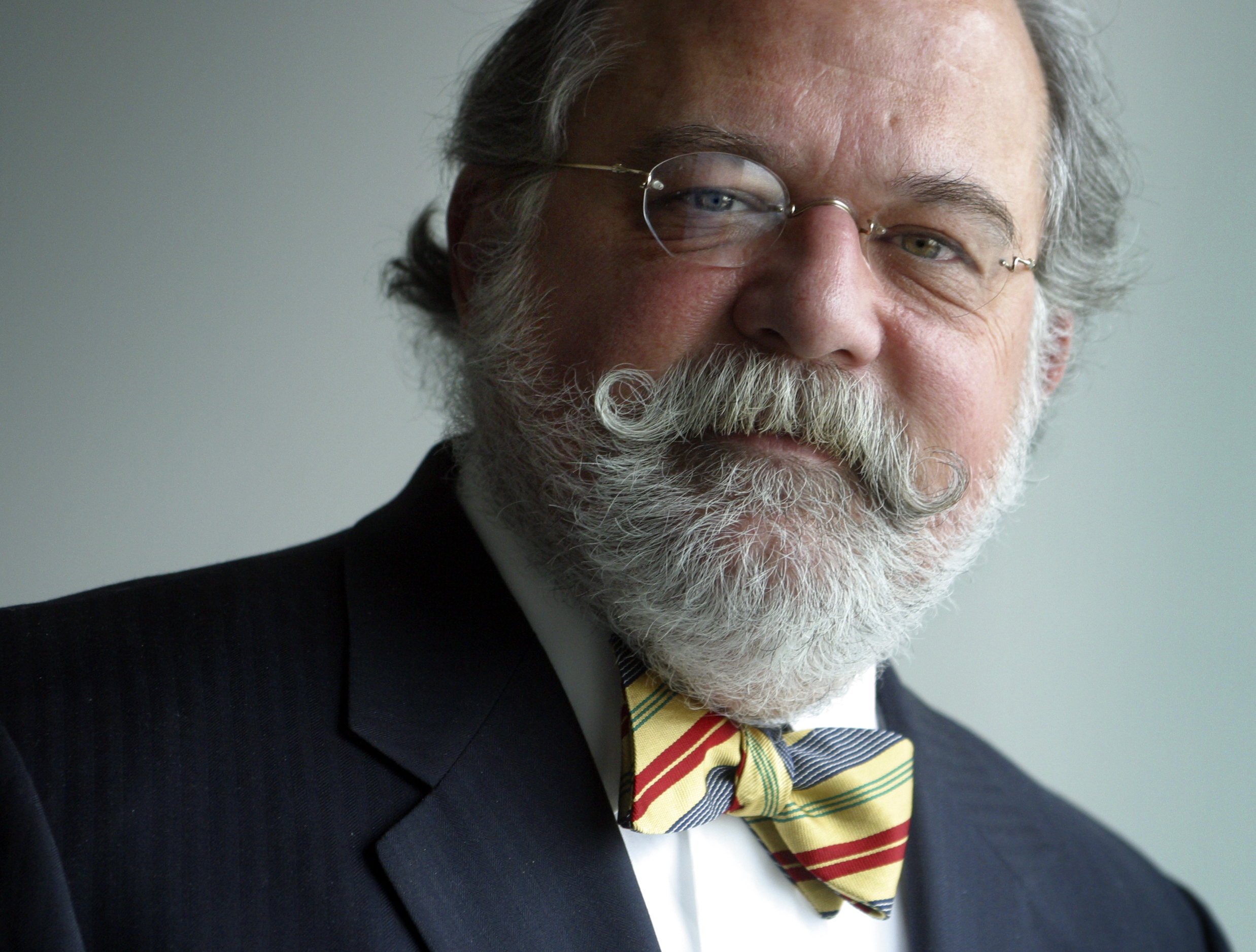 Corporate attorney Ty Cobb in the offices of his law firm in 2004. (Getty Images)