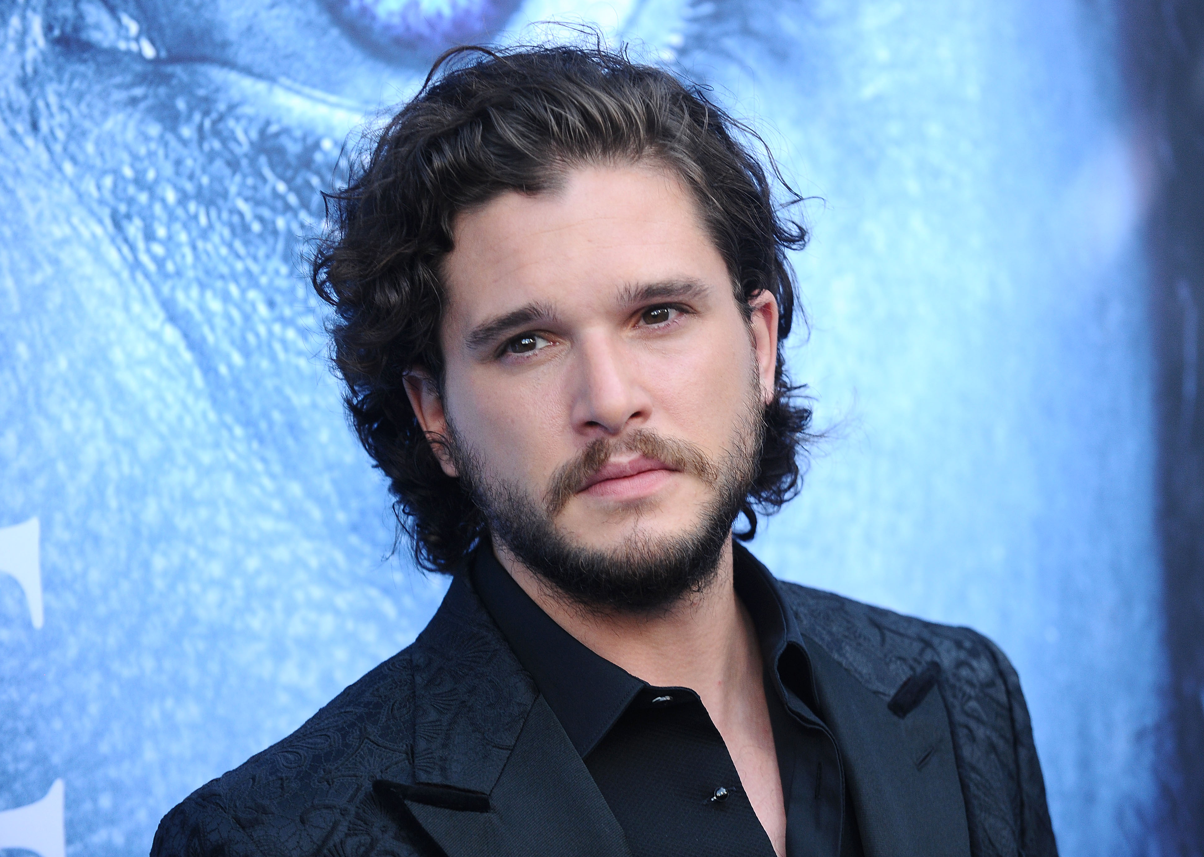 Actor Kit Harington attends the season 7 premiere of  Game Of Thrones  at Walt Disney Concert Hall on July 12, 2017 in Los Angeles, Calif.