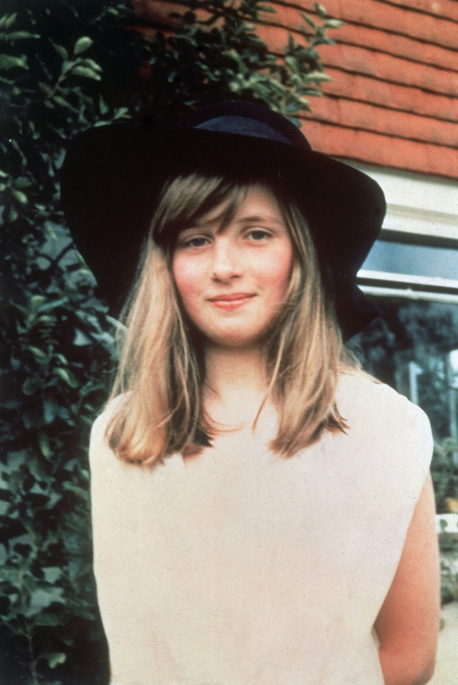 Lady Diana Spencer during a summer holiday  in Itchenor, West Sussex in Britain.