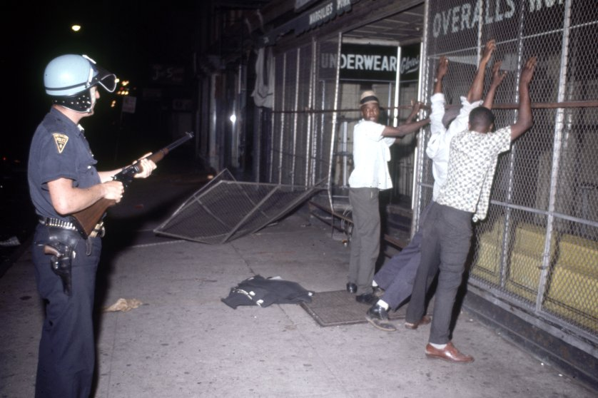Scenes from the Newark Riots, 1967.
