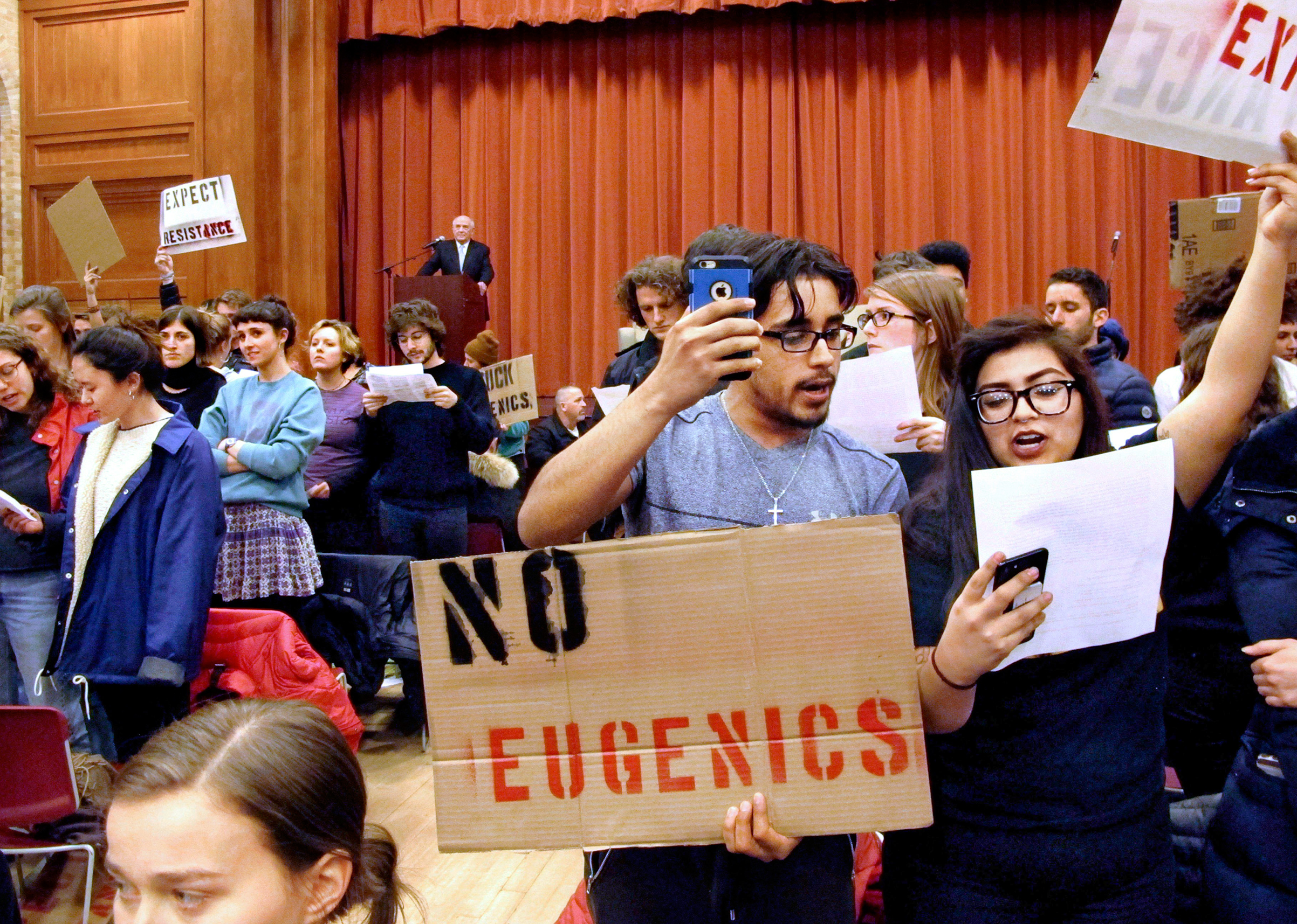Students at Middlebury College shouted down Charles Murray rather than listen to hiscontroversial ideas when he came to speak at their campus in March
