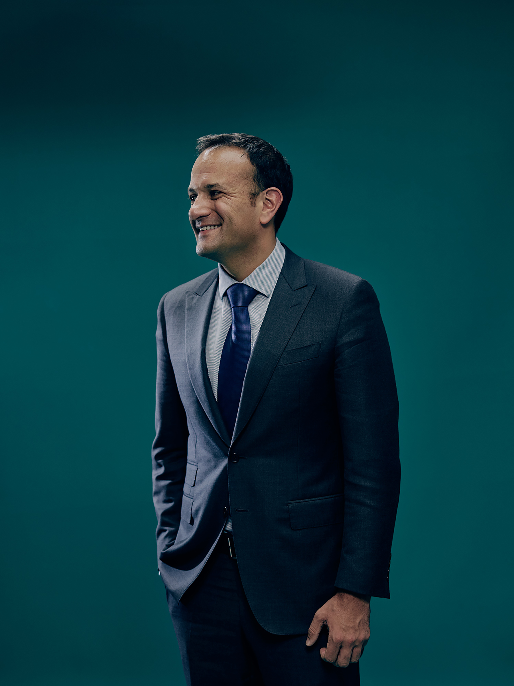 The new Irish Prime Minister Leo Varadkar poses for a portrait at the Irish Parliament in Dublin, Ireland on July 7, 2017.
