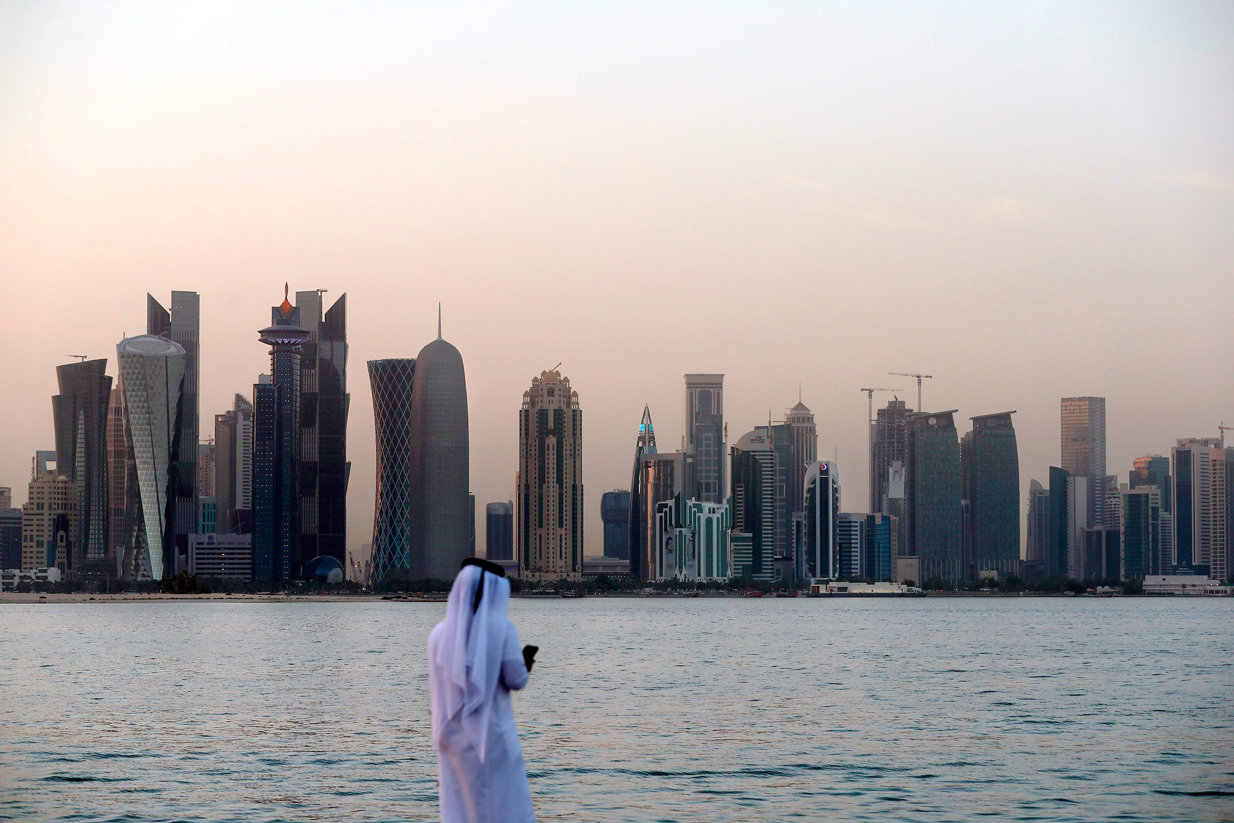 Life in Doha is relatively unchanged after weeks under a blockade