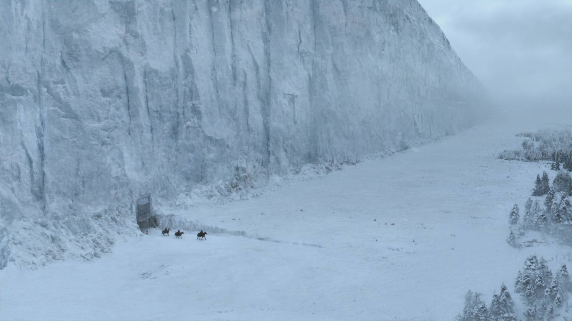 The Wall in 'Game of Thrones.' HBO.