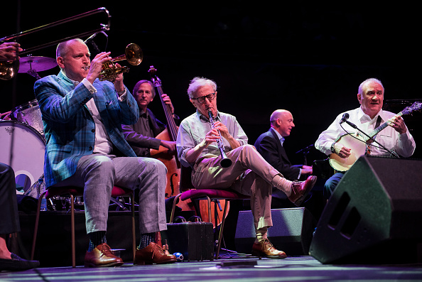 Woody Allen and his New Orleans Jazz Band perform at Royal Albert Hall on July 2, 2017 in London, England.