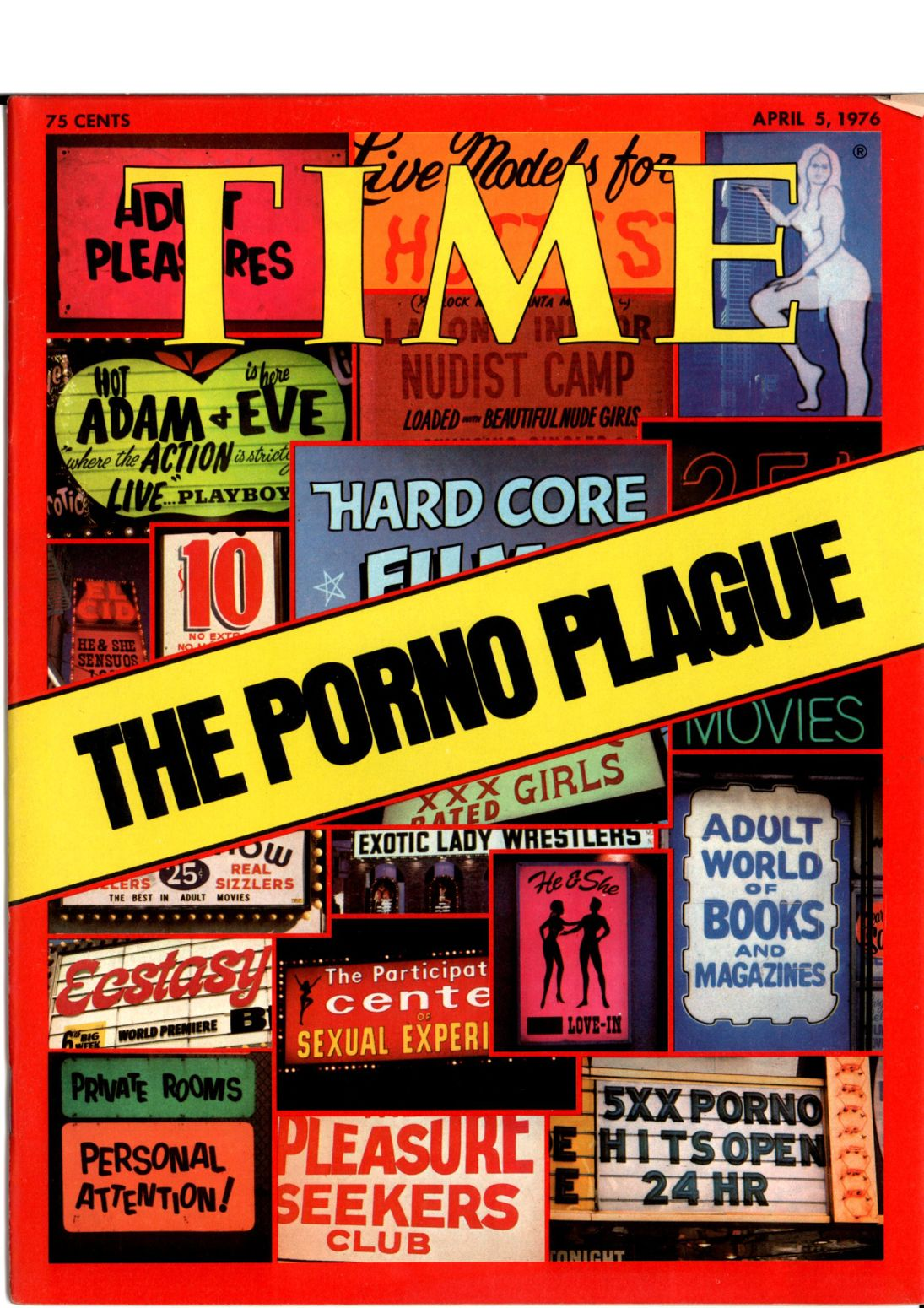 The April 5, 1976, cover of TIME.