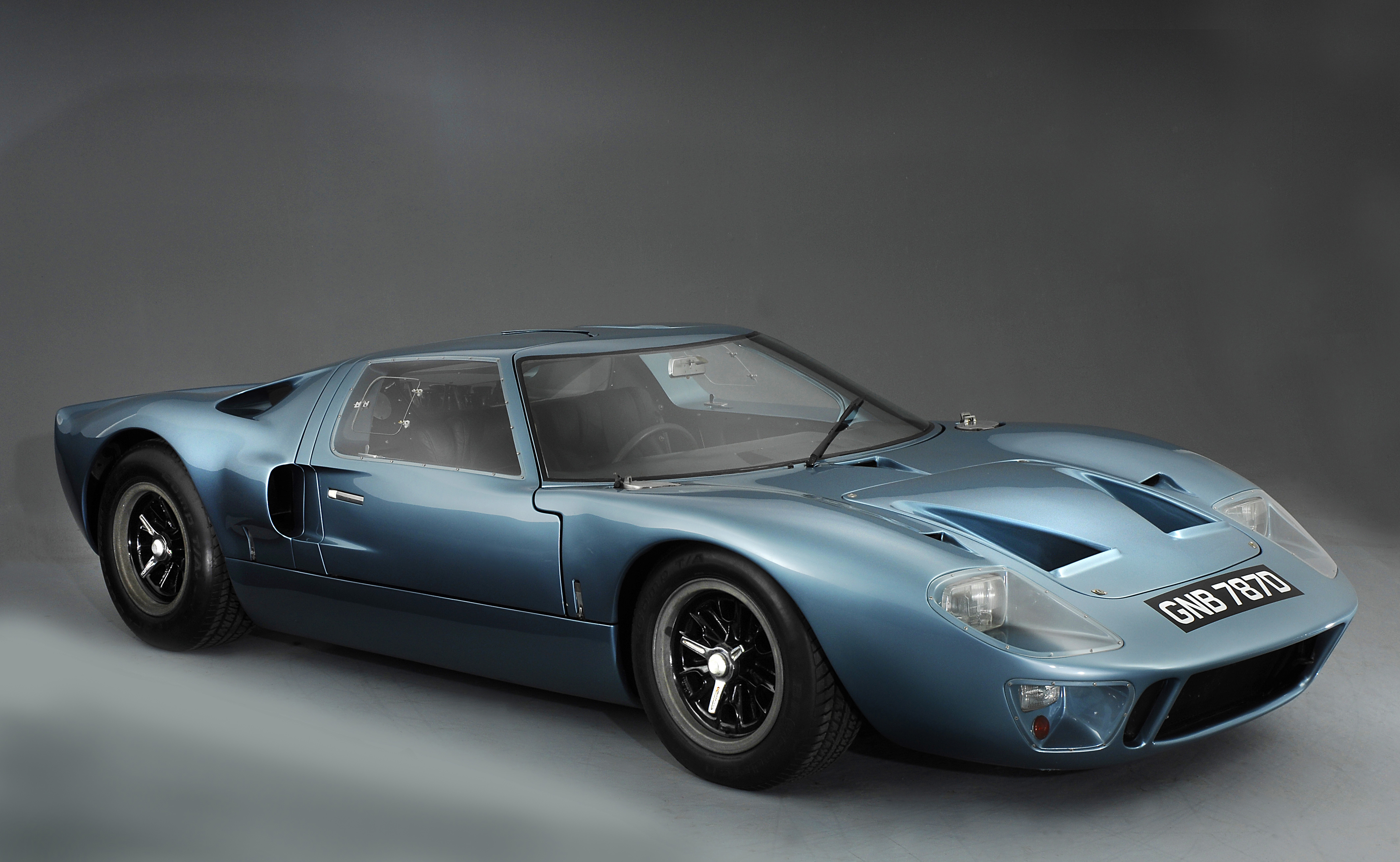 1966 Ford GT40. Artist: Unknown. (Photo by National Motor Museum/Heritage Images/Getty Images)