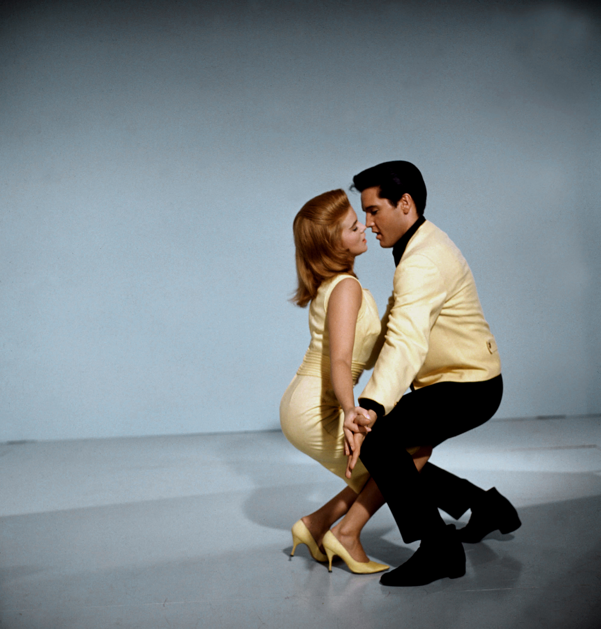 Swedish-American actress, singer and dancer Ann-Margret and Elvis promoting the movie Viva Las Vegas, 1964.