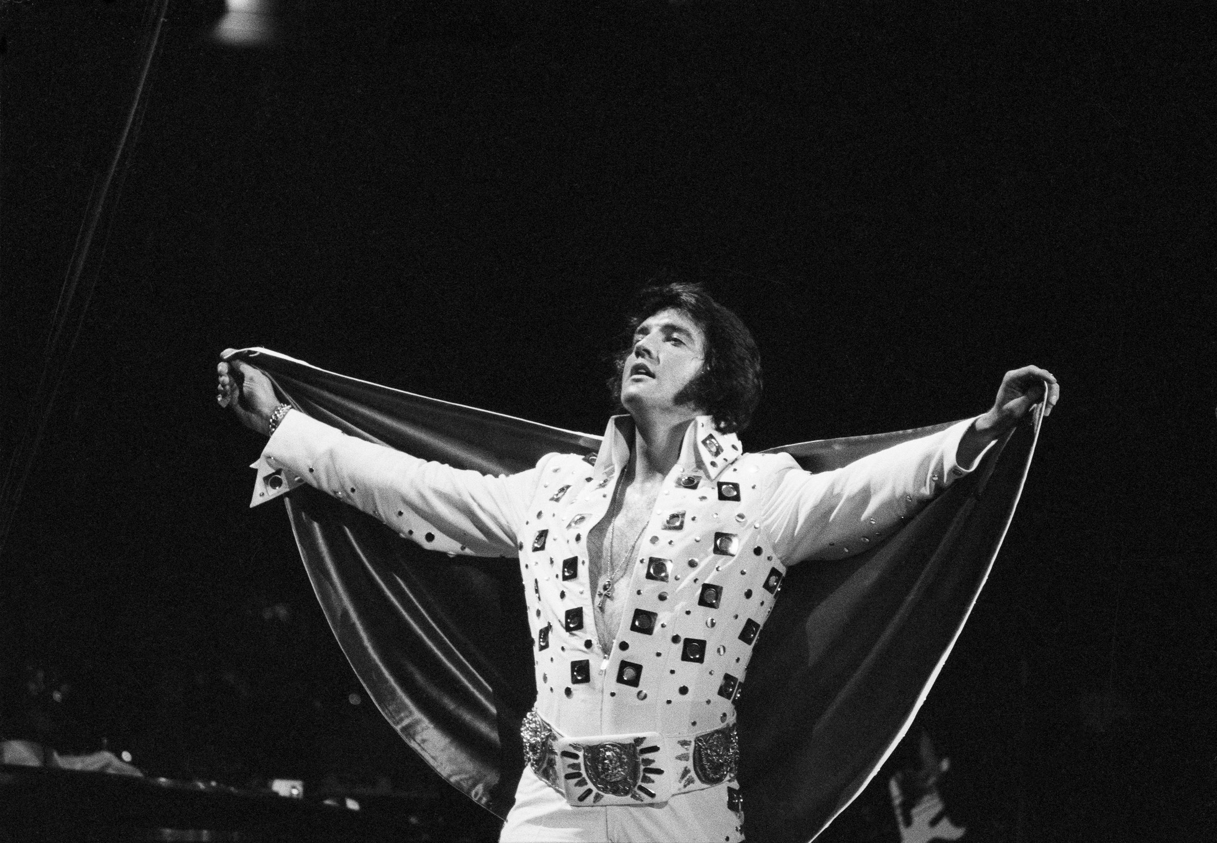 Elvis performs at Madison Square Garden, New York City, June 1972,