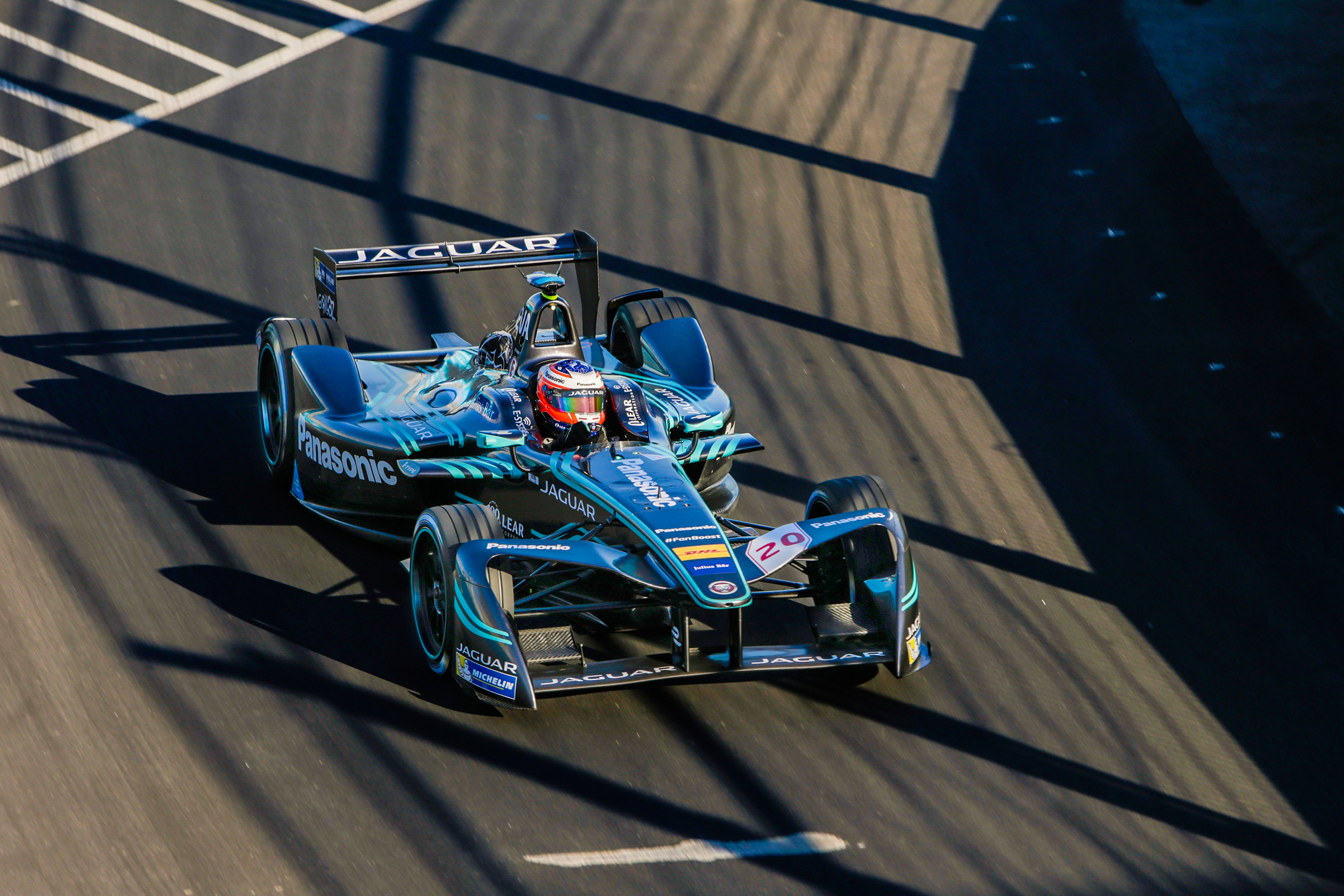 A custom microgrid powered the electric race cars at the Formula E event in Brooklyn in July