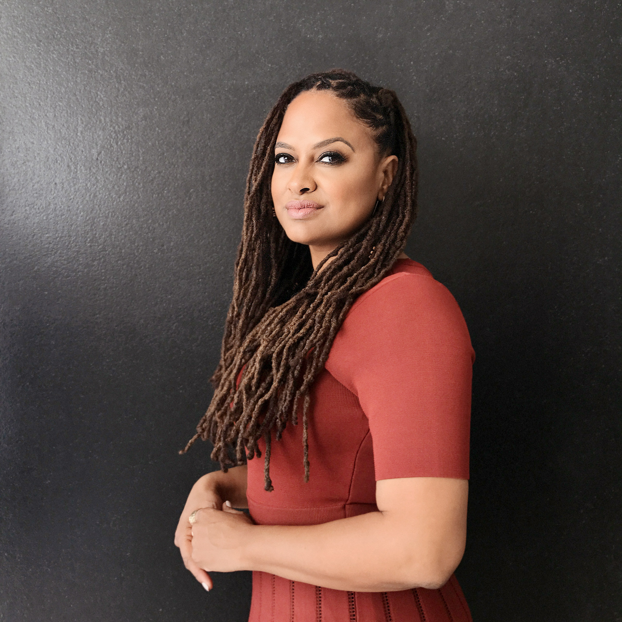 Portrait of Ava DuVernay, photographed at Milk Studios in Los Angeles, CA, October 22, 2016.
