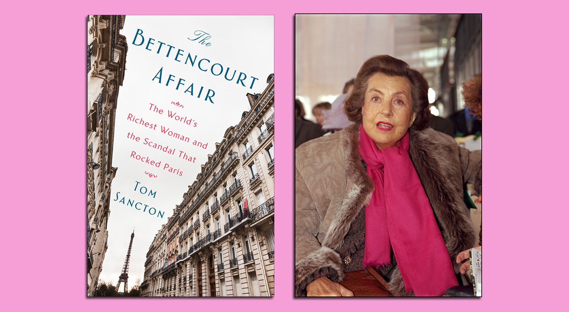 The Bettencourt Affair by Tom Sancton; Liliane Bettencourt in 2001