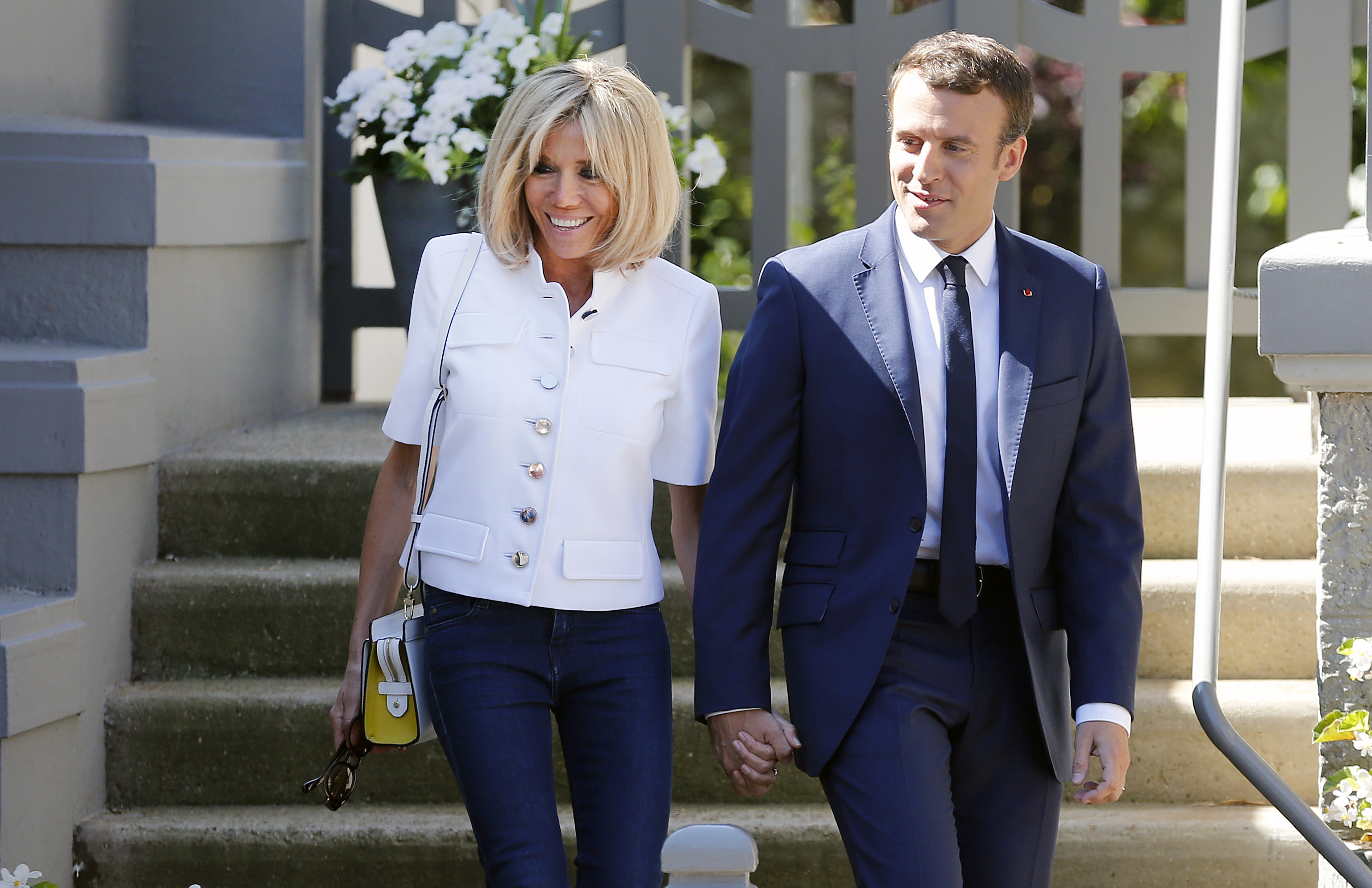 Brigitte Macron On Age Difference With Emmanuel Macron Time