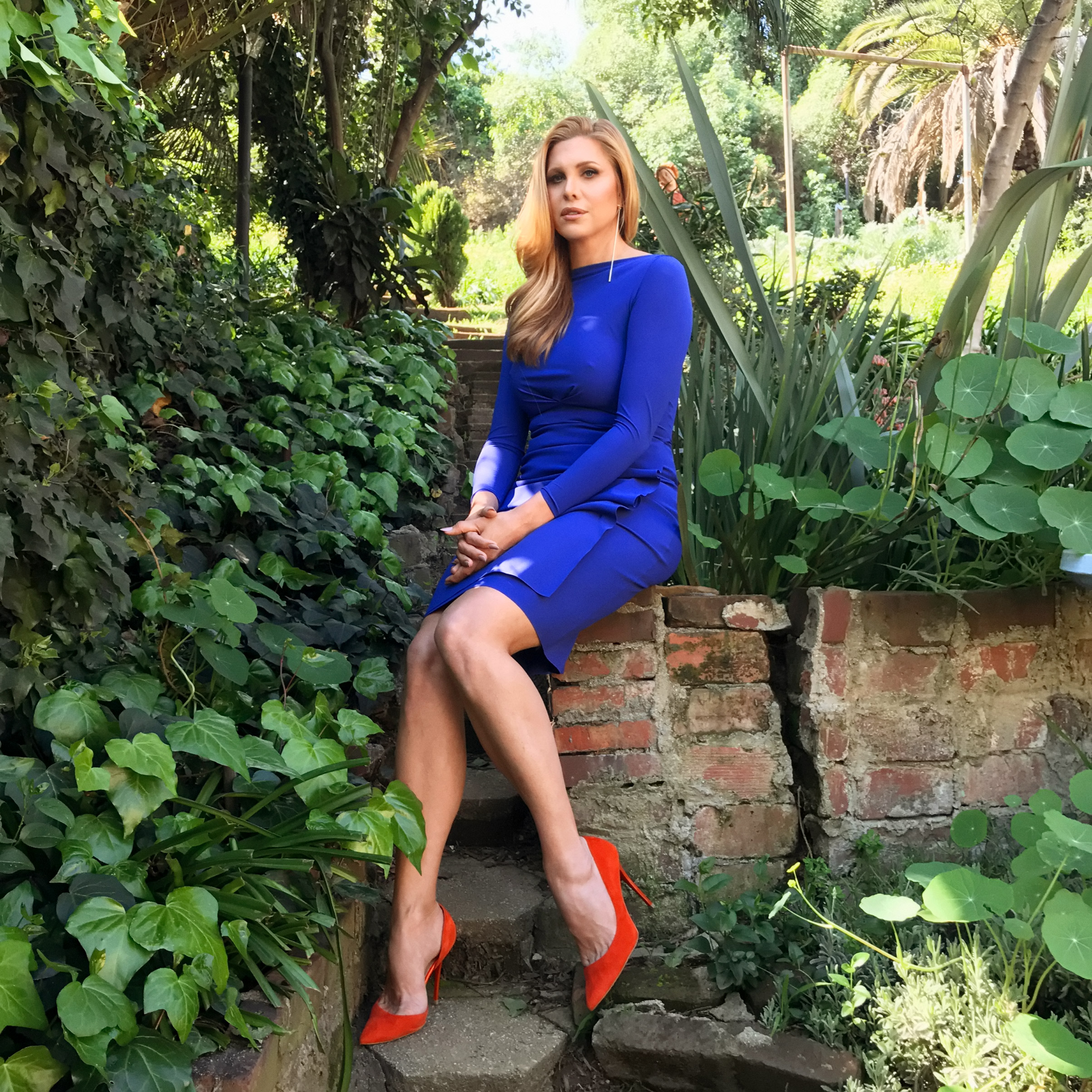 Portrait of Candis Cayne, photographed at her home in Glendale, CA, on March 11, 2017.