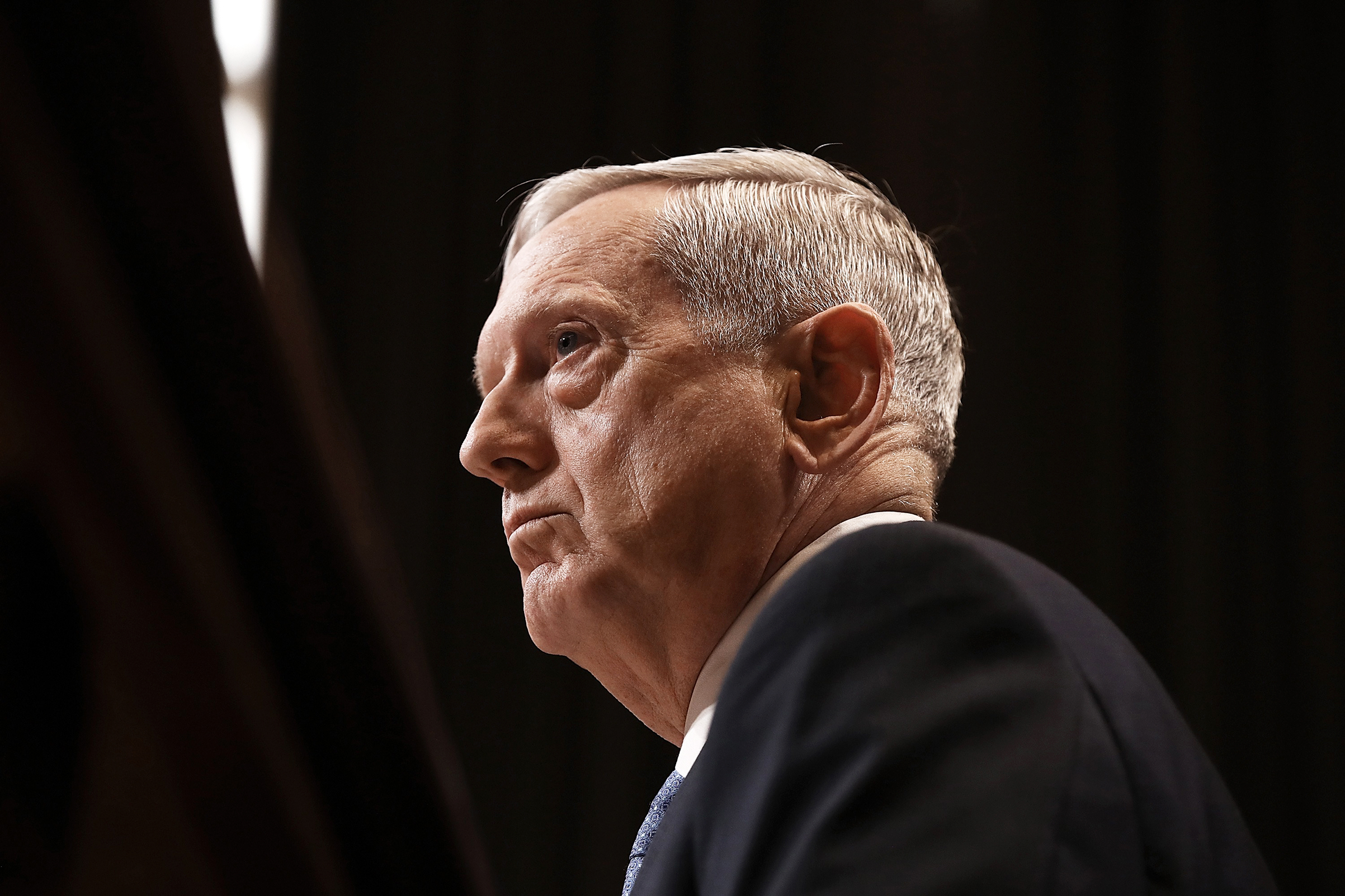 Defense Secretary James Mattis testifies before the Senate Appropriations Committee March 22, 2017 in Washington.