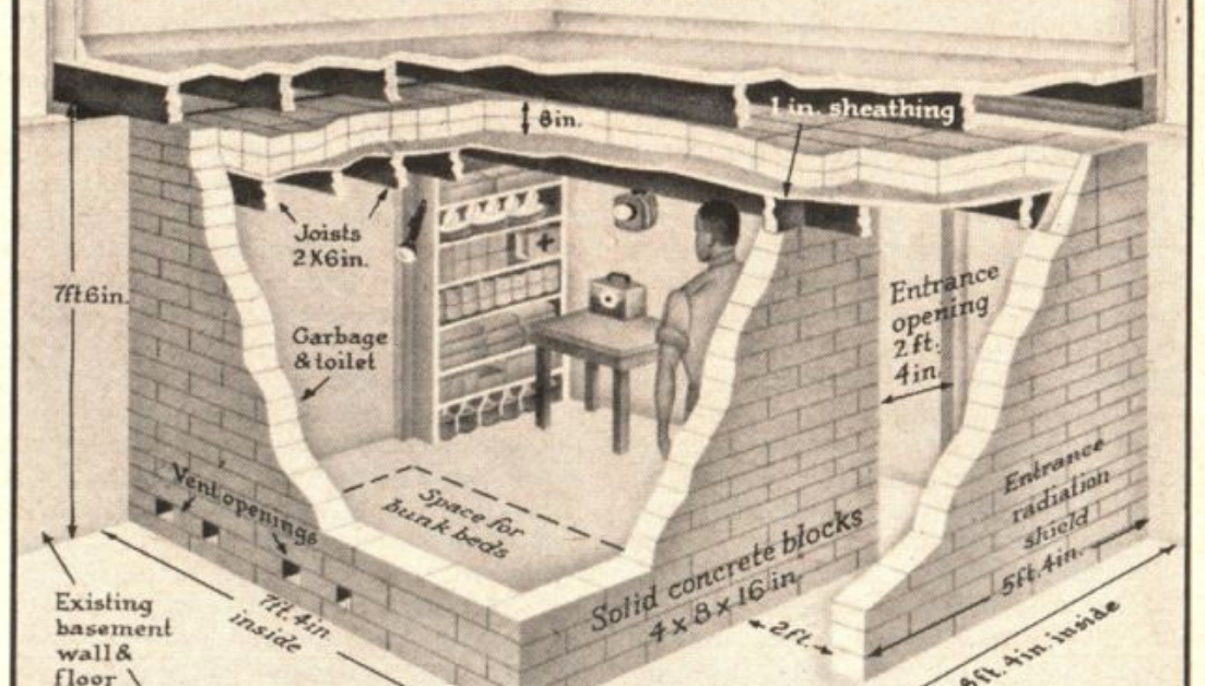 North Korea Why American Fallout Shelters Faded Time