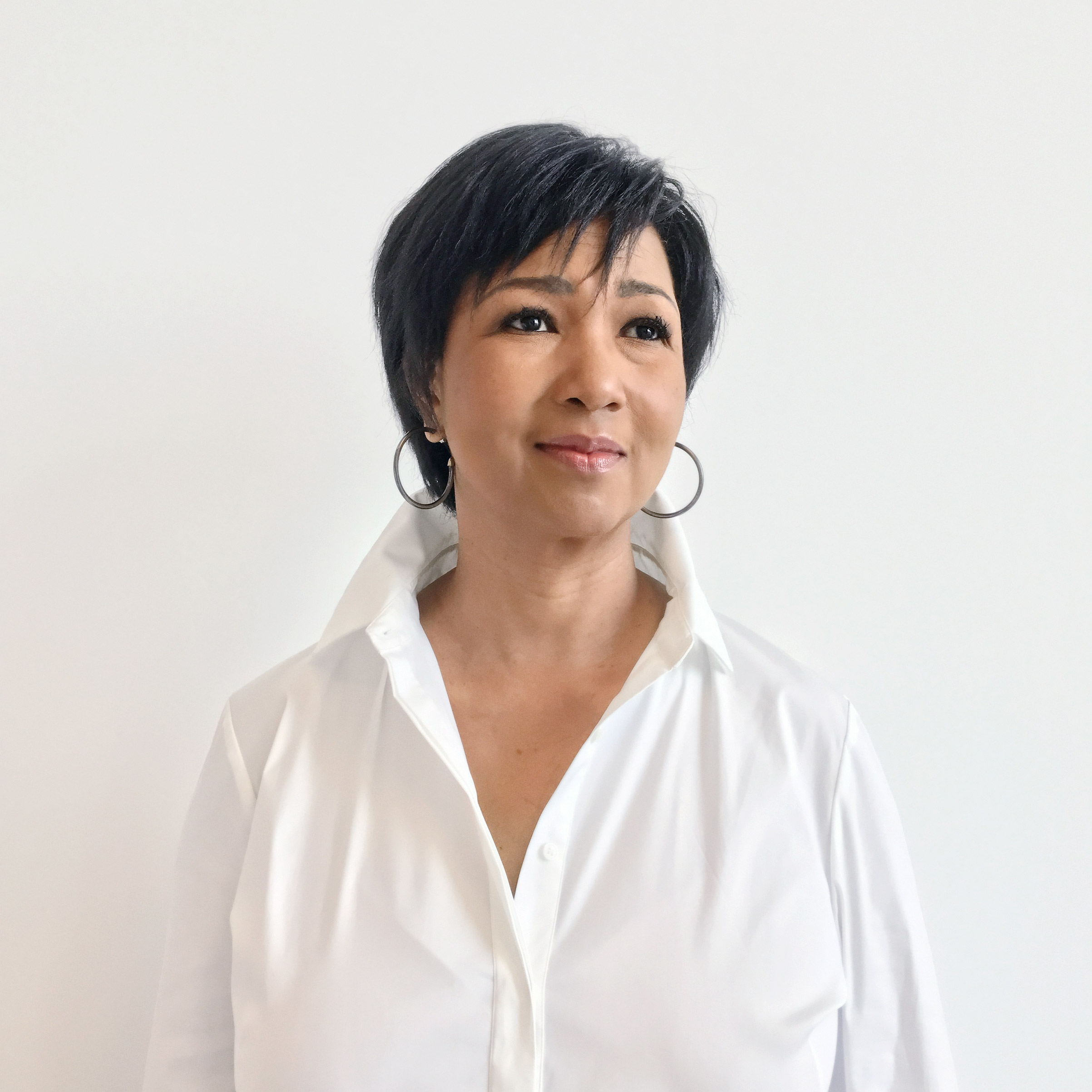 Portrait of Mae Jemison, photographed at the National Space Biomedical Research Institute in Houston, TX, November 2, 2016.