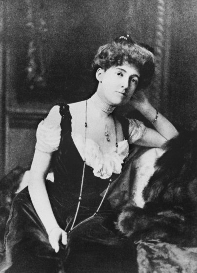 EDITH WHARTON: The first woman in America to win the Pulitzer prize for fiction, 1921.