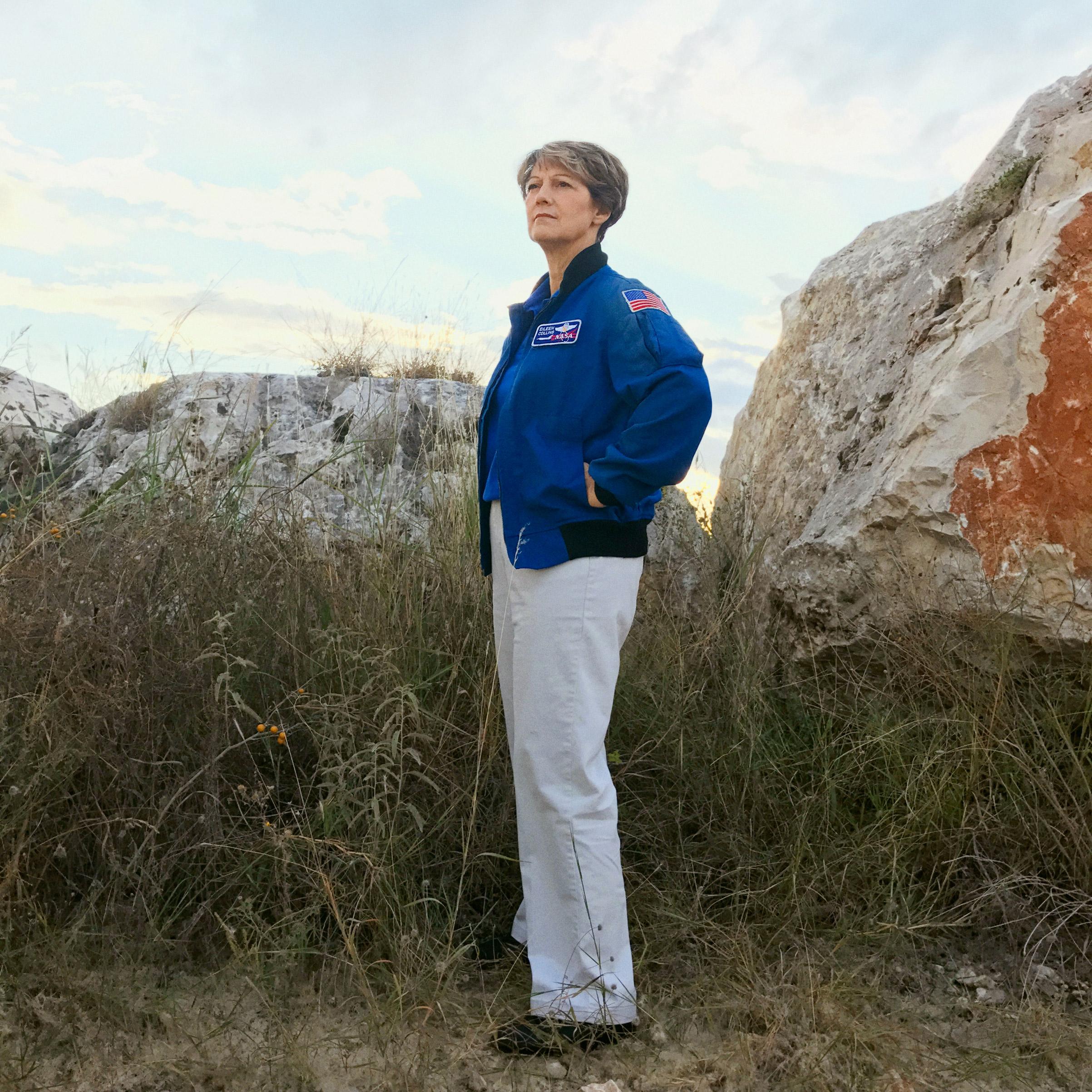 Portrait of Eileen Collins, photographed in San Antonio, TX, November 3, 2016.