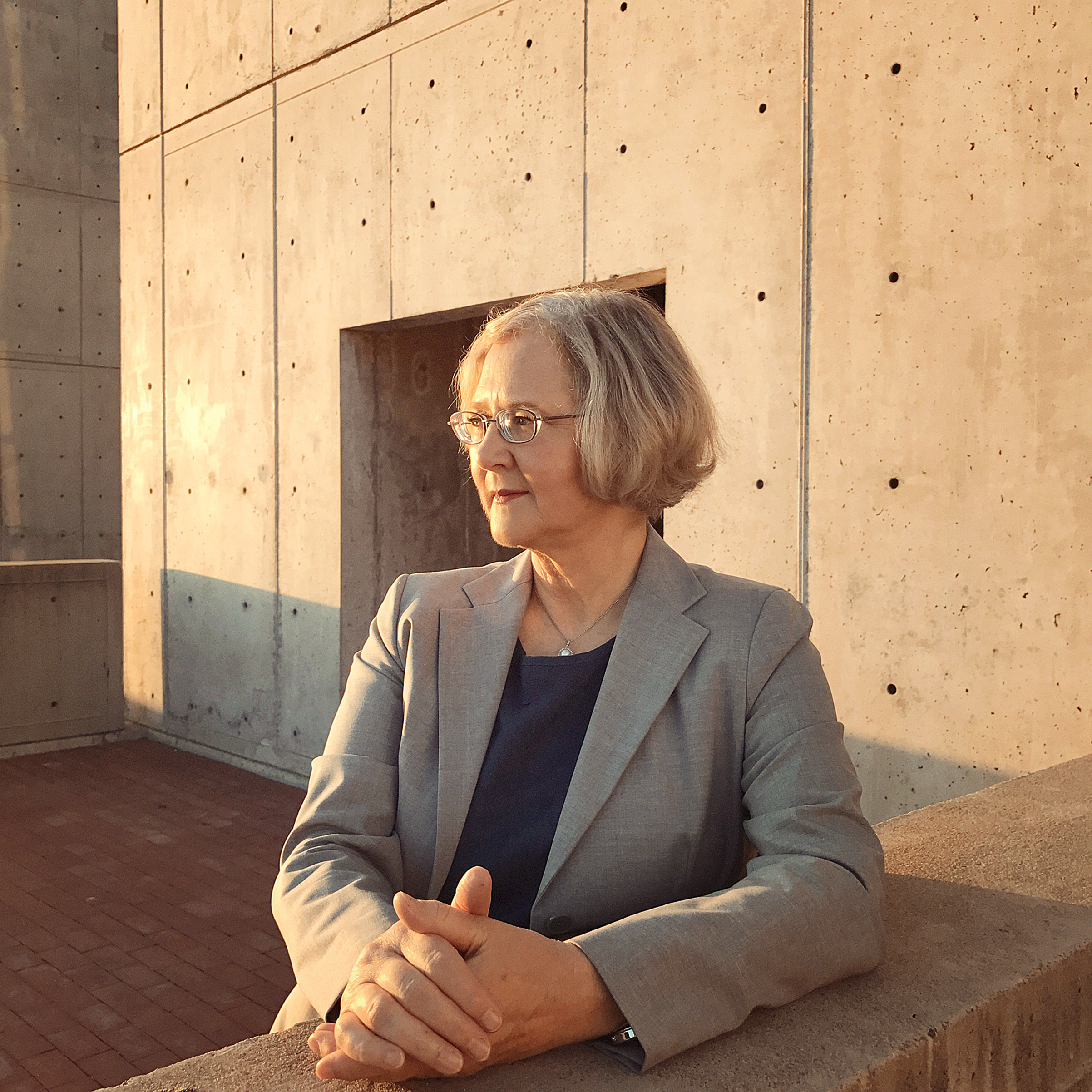 Portrait of Elizabeth Blackburn, photographed at the SALK Institute in La Jolla, CA, October 19, 2016.