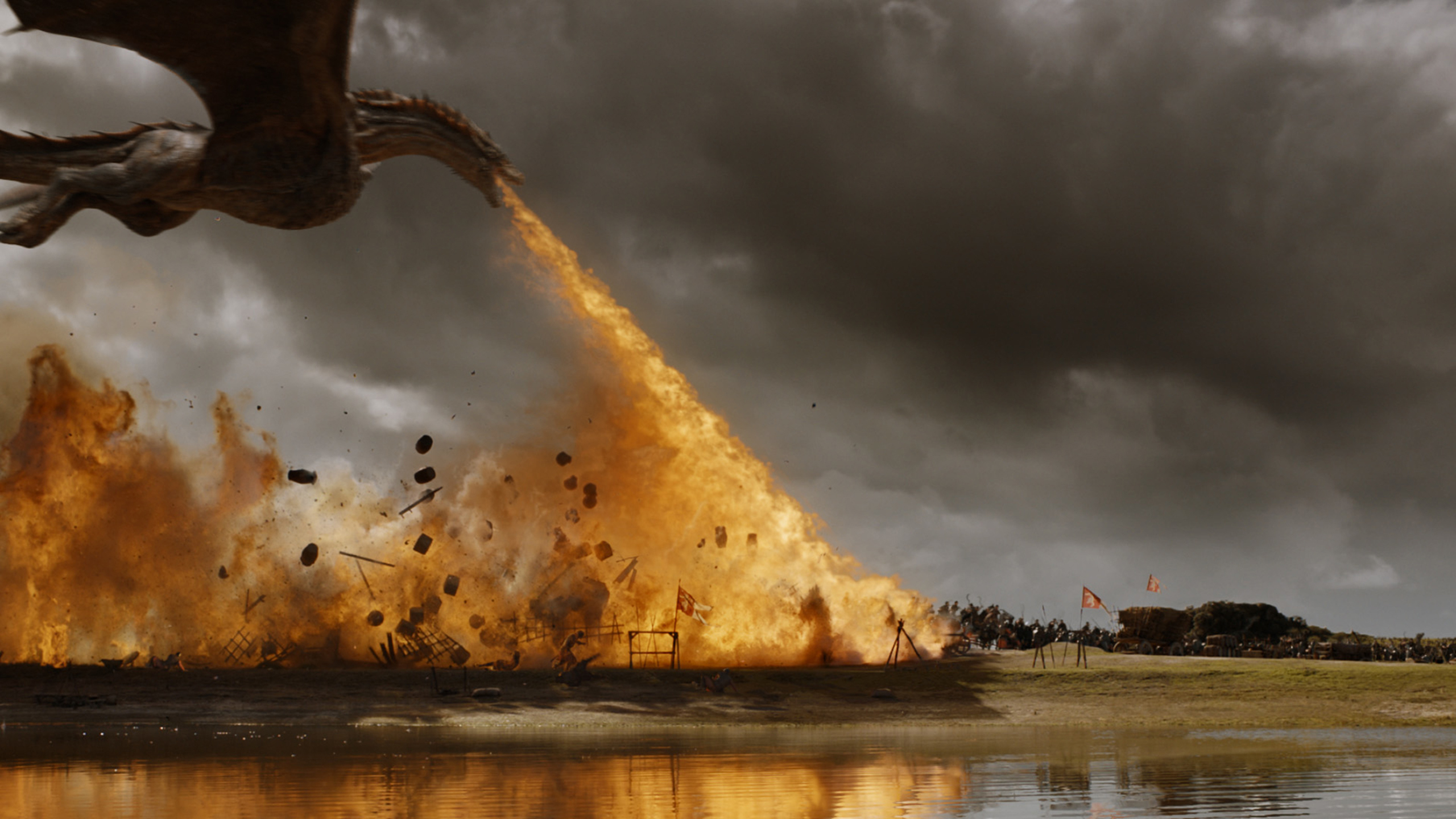 Game Of Thrones Funny Dragon Gif Memes From Spoils Of War Time