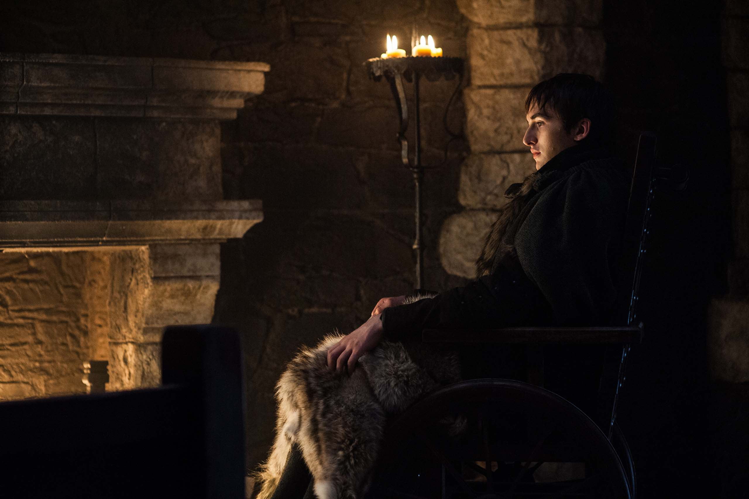 Isaac Hempstead Wright in Game of Thrones