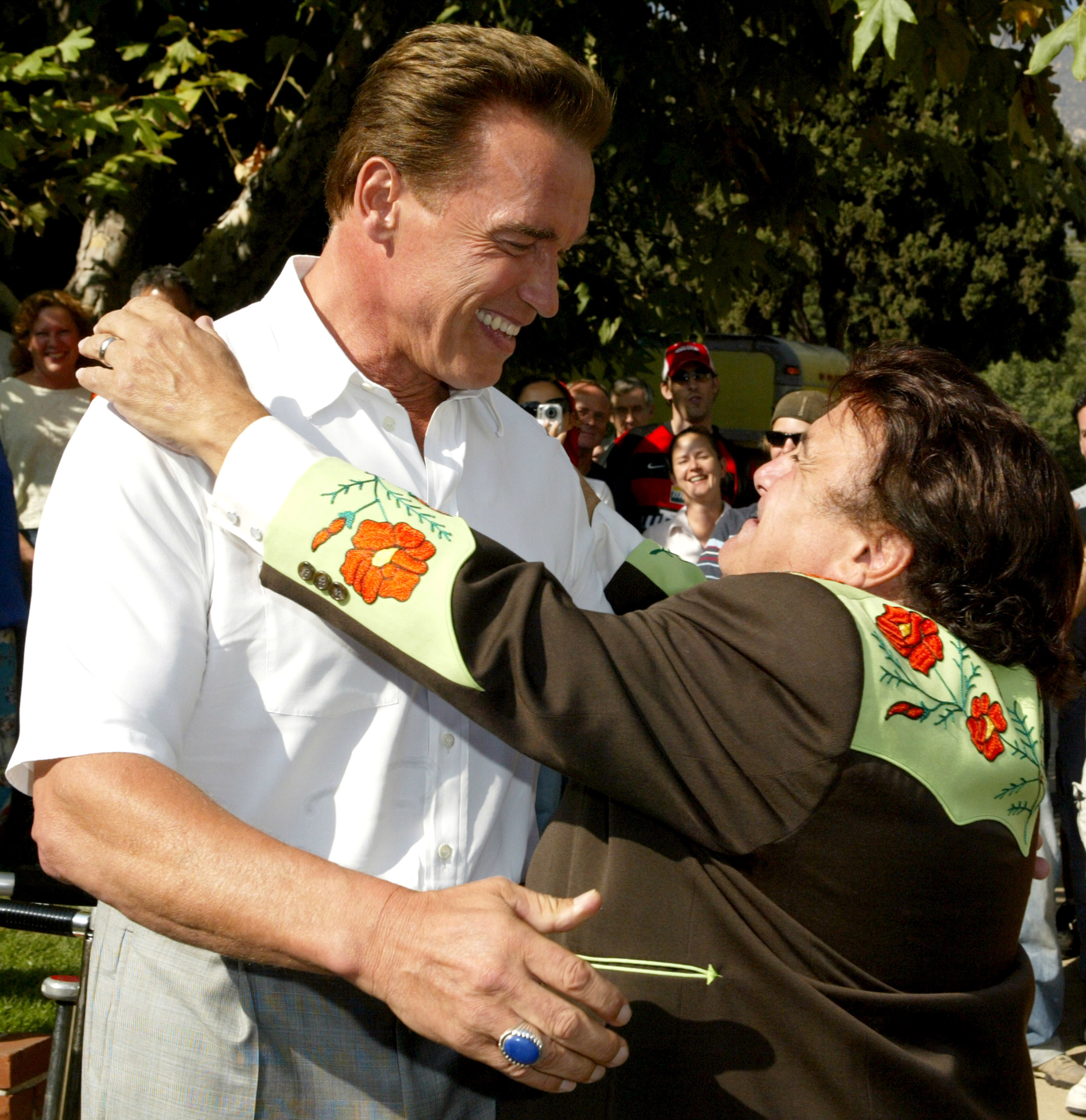 Arnold Schwarzenegger Shares How Much He Loves Danny Devito Time