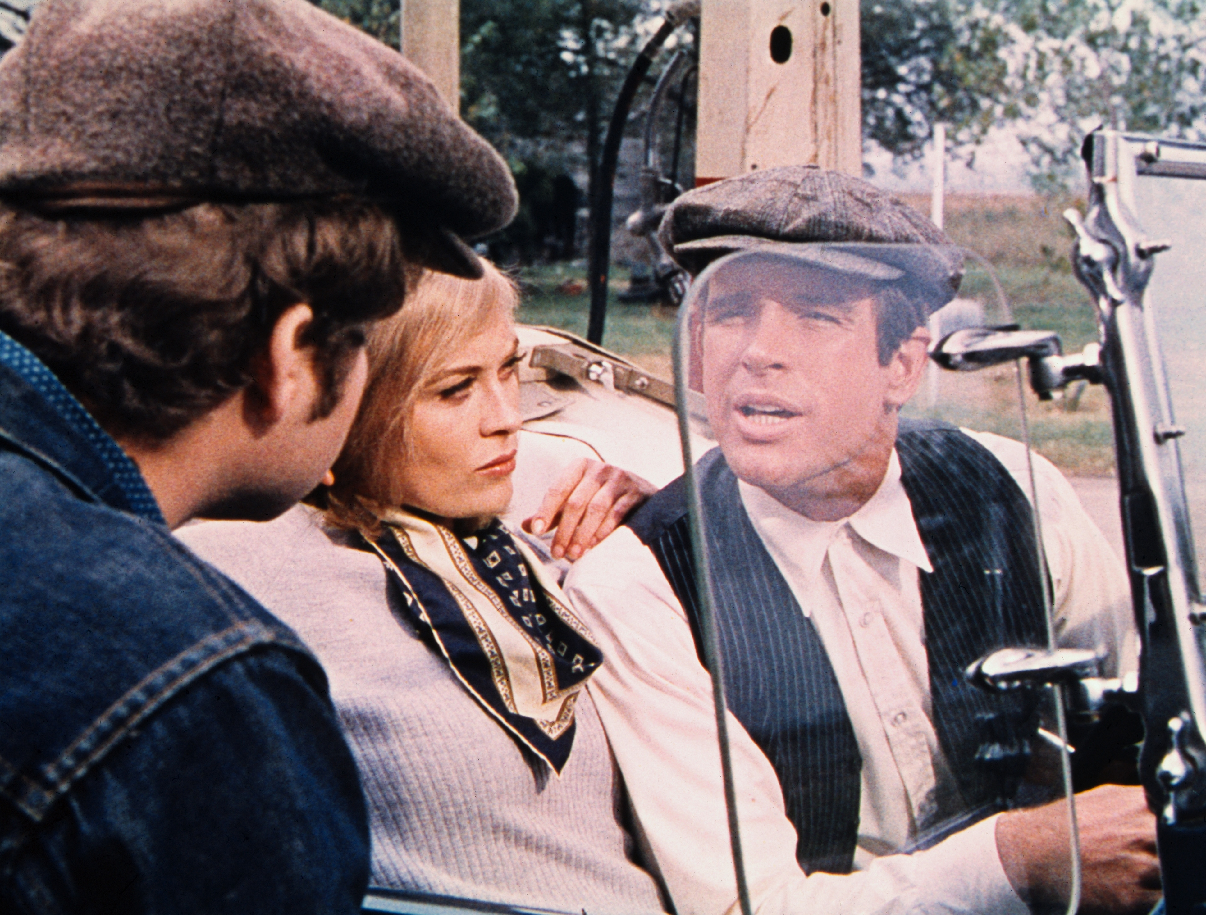 Scenes from the movie Bonnie and Clyde with Warren Beatty and Faye Dunaway. Produced by Warner Brothers Studios.