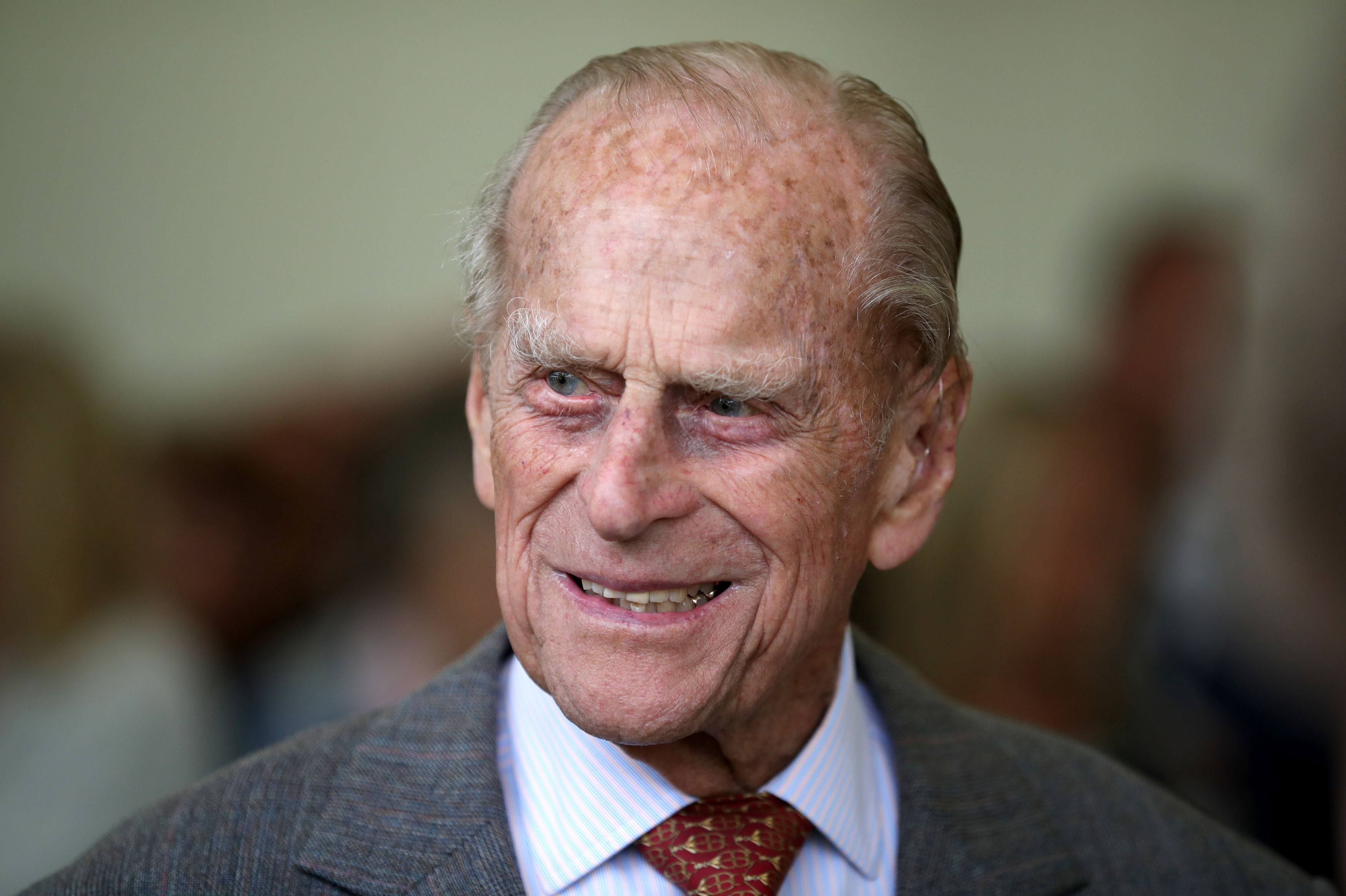 Prince Philip, the Duke of Edinburgh, at the Palace of Holyroodhouse in Edinburgh, July 6, 2017.