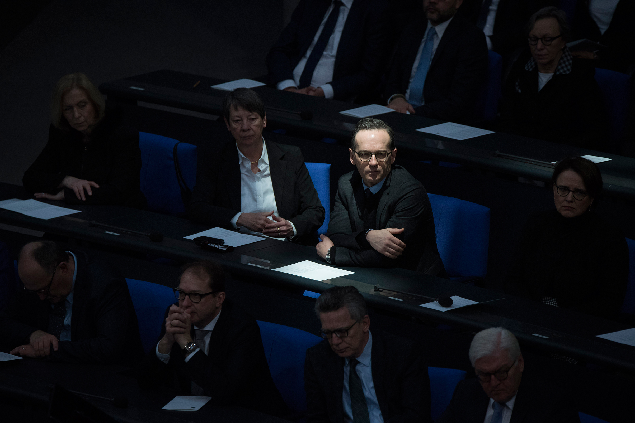 Heiko Maas, Germany's Federal Minister of Justice, during a meeting in Berlin on Jan. 27.