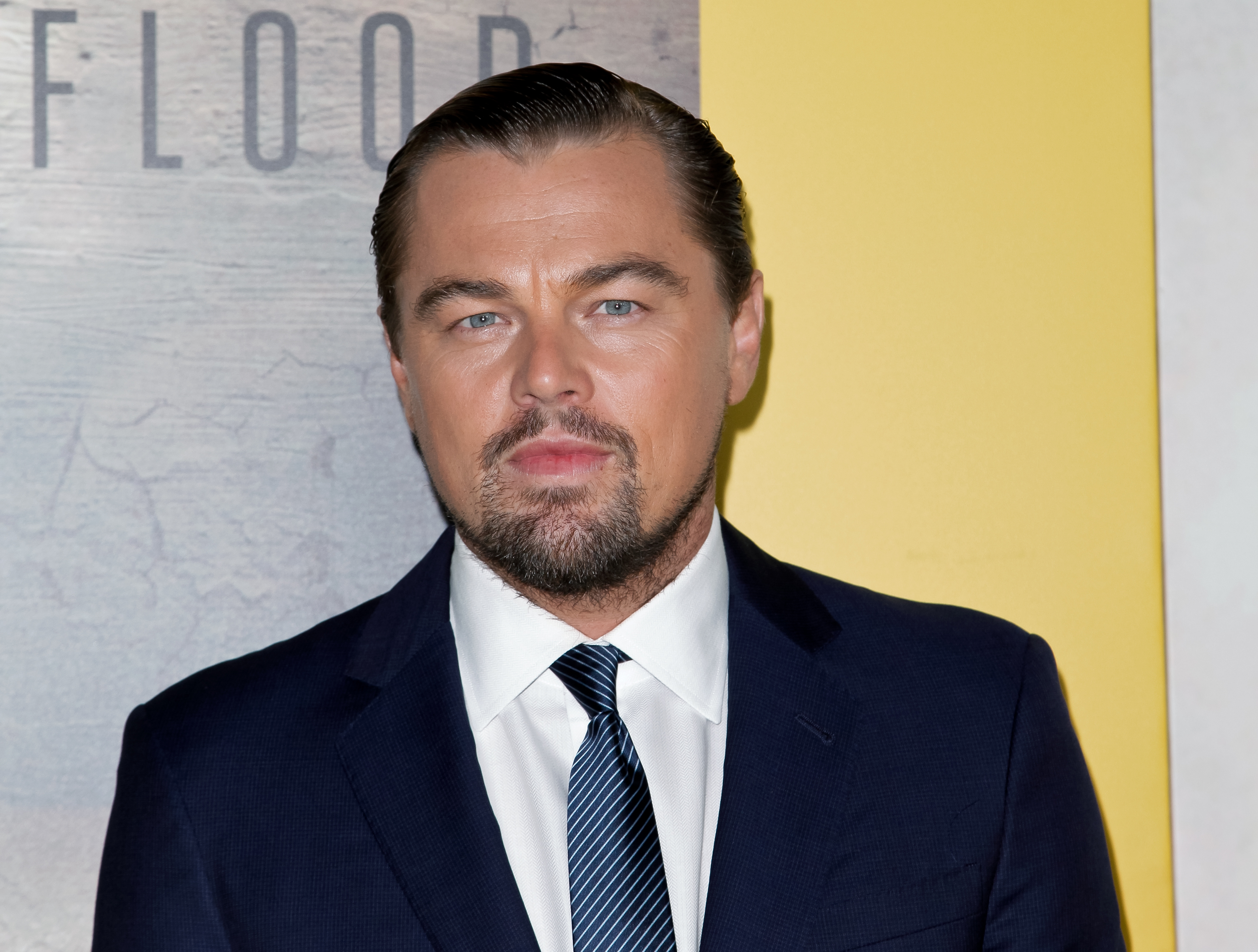 Leonardo DiCaprio attends the Screening of National Geographic Channel's 'Before The Flood' on October 24, 2016 in Los Angeles, California.