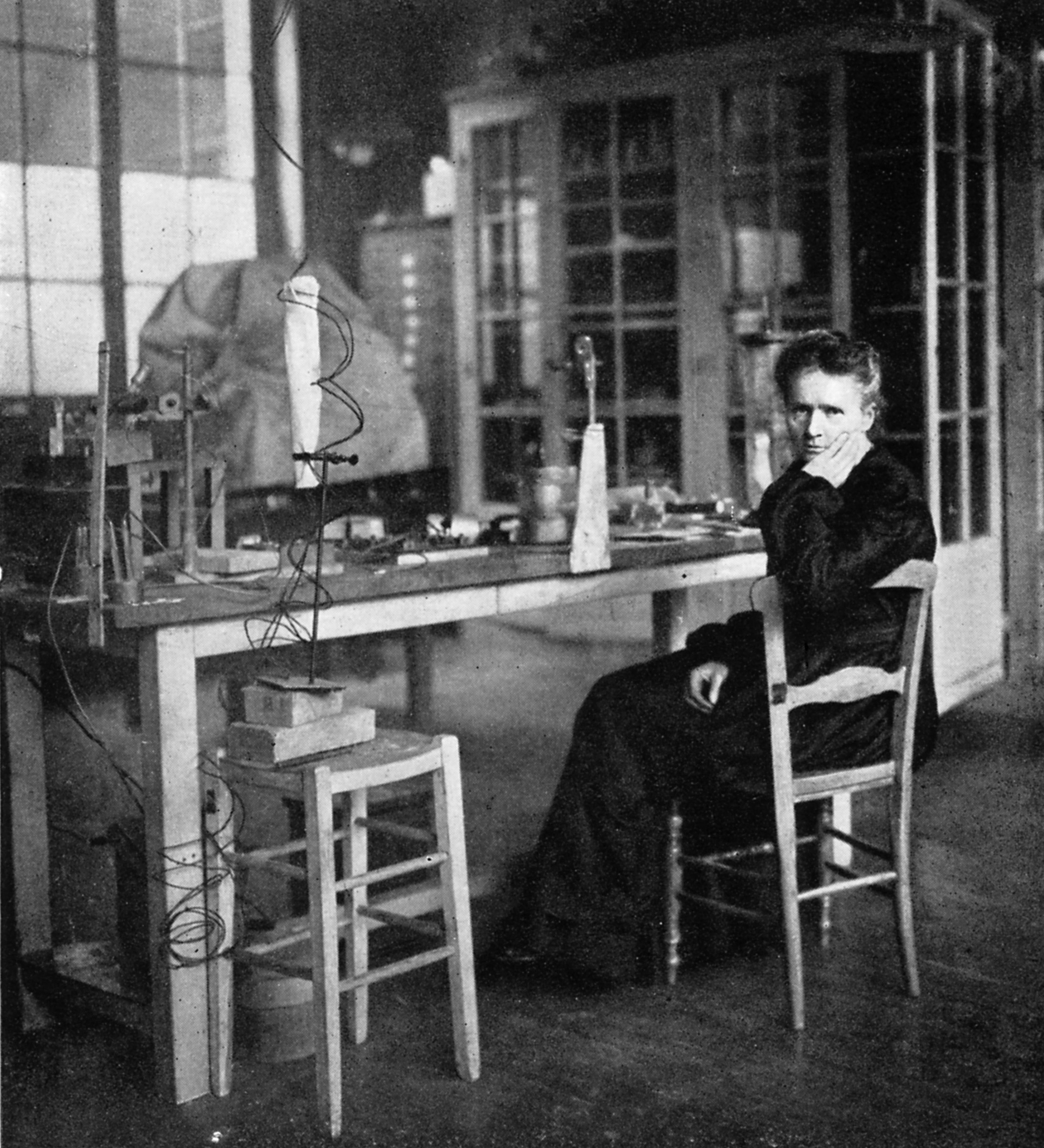 MARIE CURIE became the first woman to win a Nobel Prize in Physics in 1903 and Chemistry in 1911.