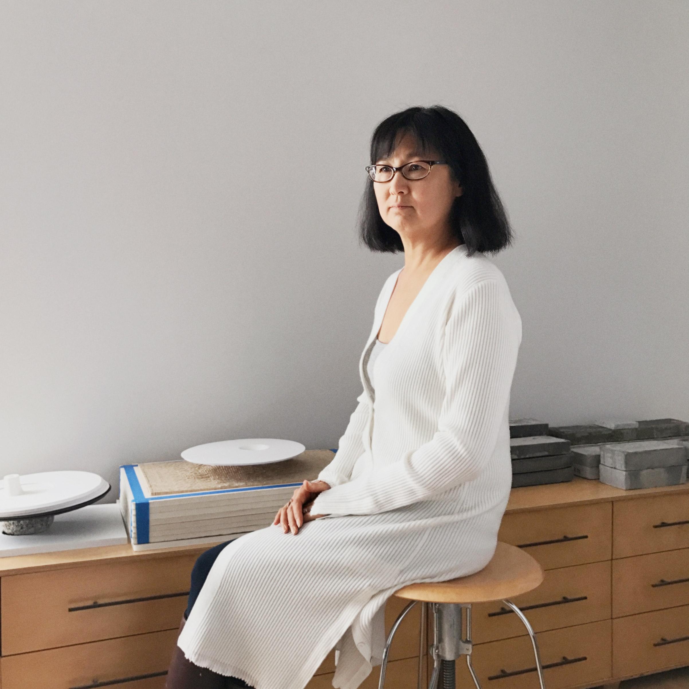 Portrait of Maya Lin, photographed in her studio, New York, NY, November 10, 2016.