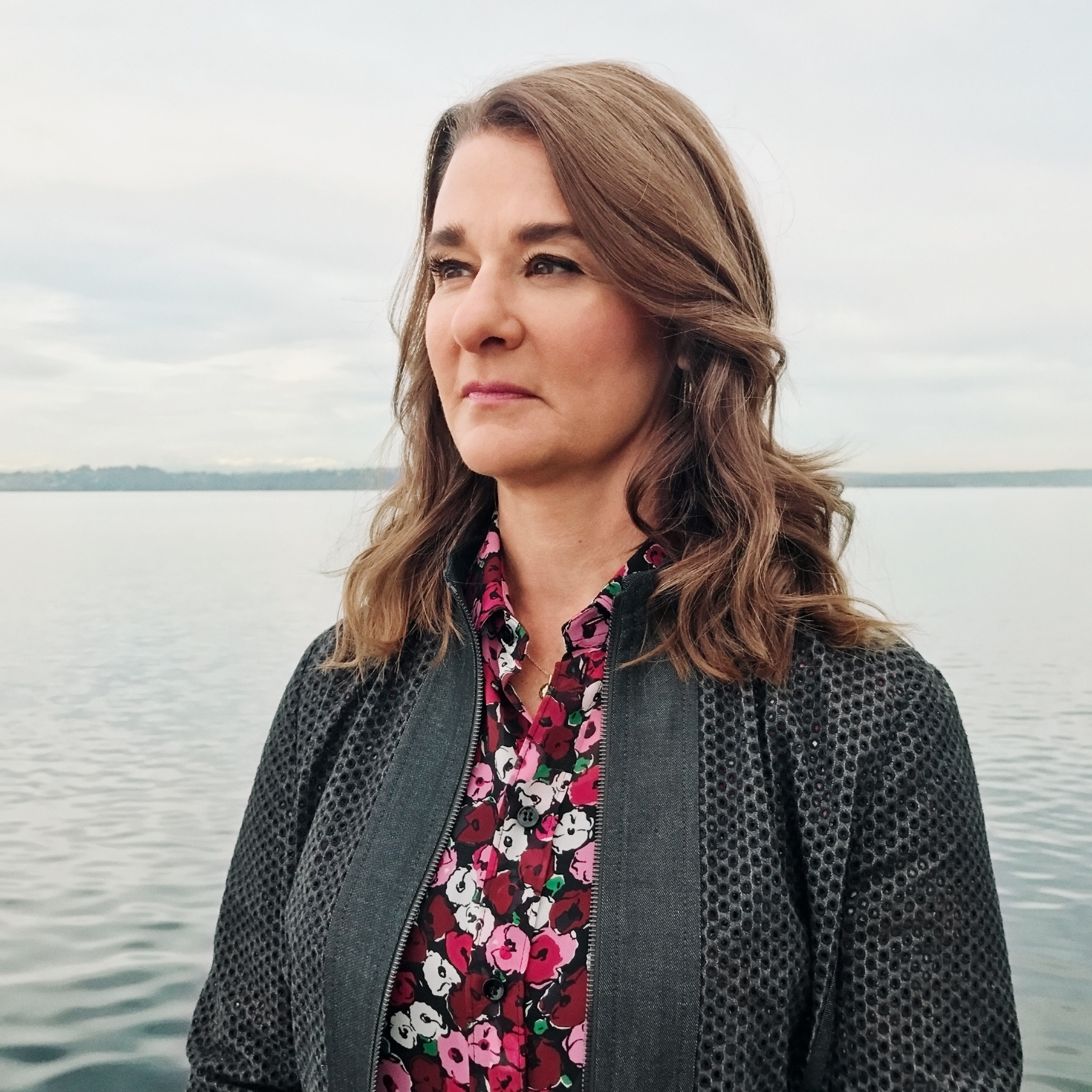 Portrait of Melinda Gates, photographed near her offices in Kirkland, WA, Feb. 14, 2017.