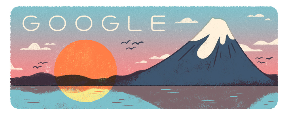 Mountain Day Google Doodle