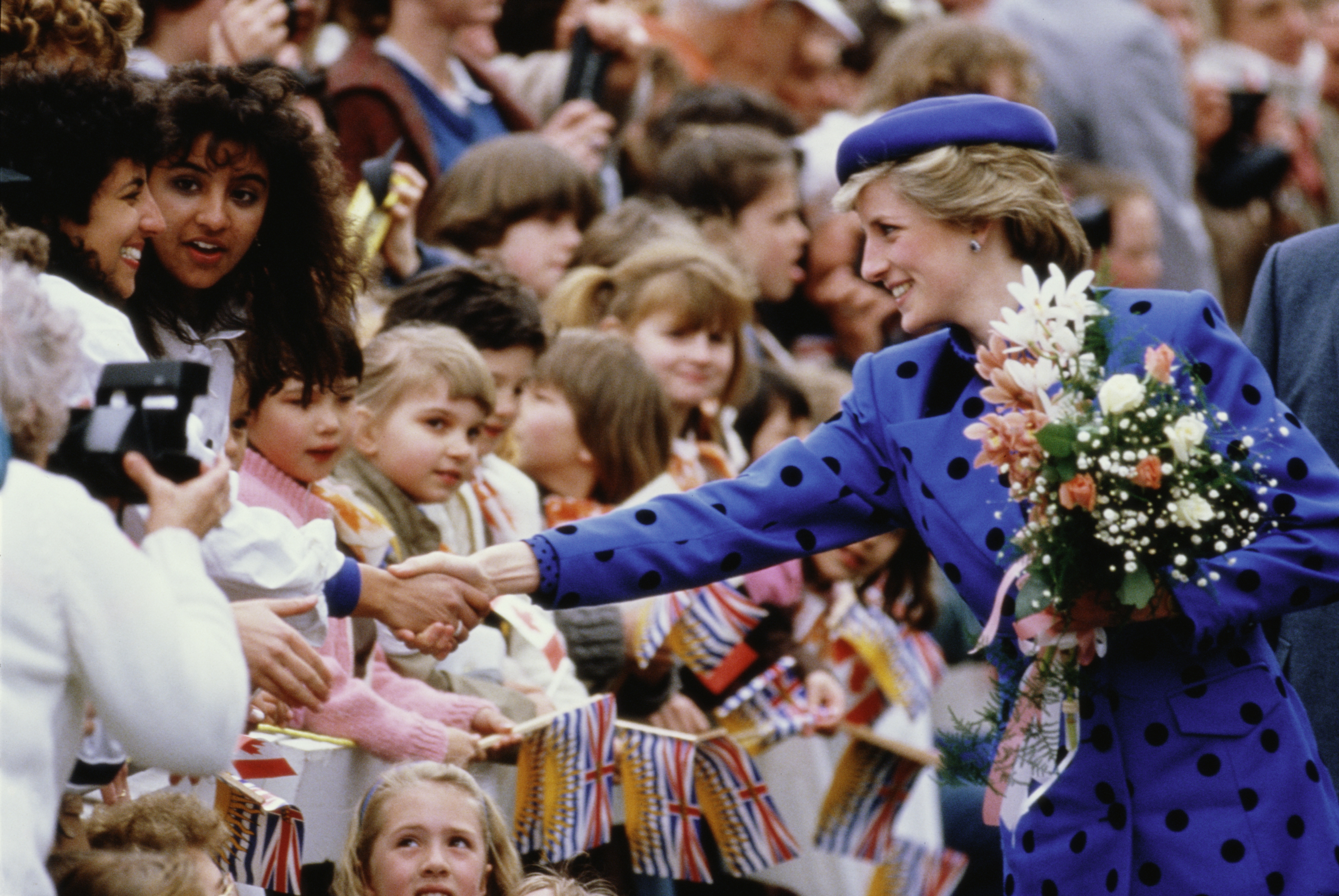 Diana, Princess of Wales (1961 - 1997) during a trip to Canada, May 1986.