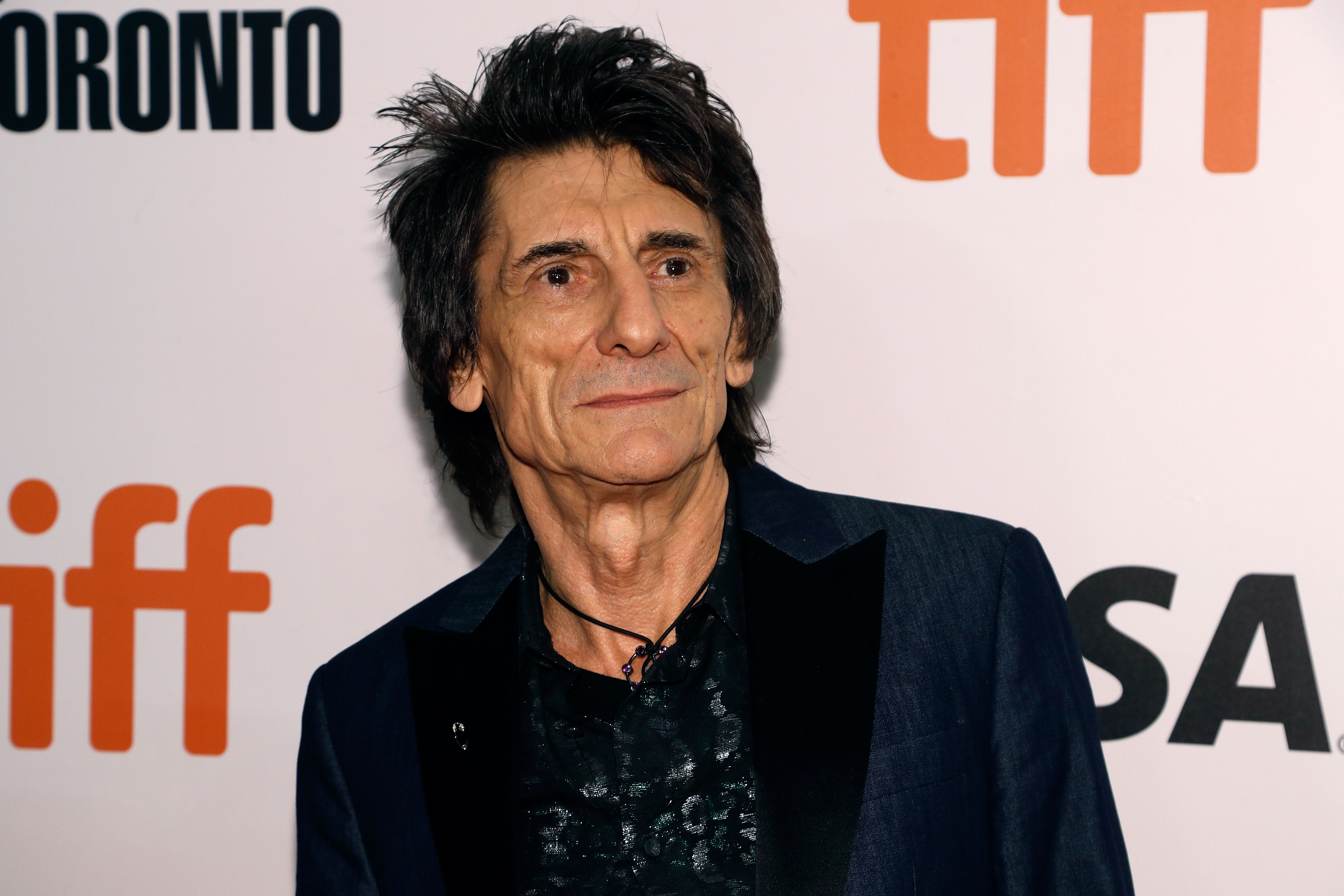 Ronnie Wood at the 2016 Toronto International Film Festival.
