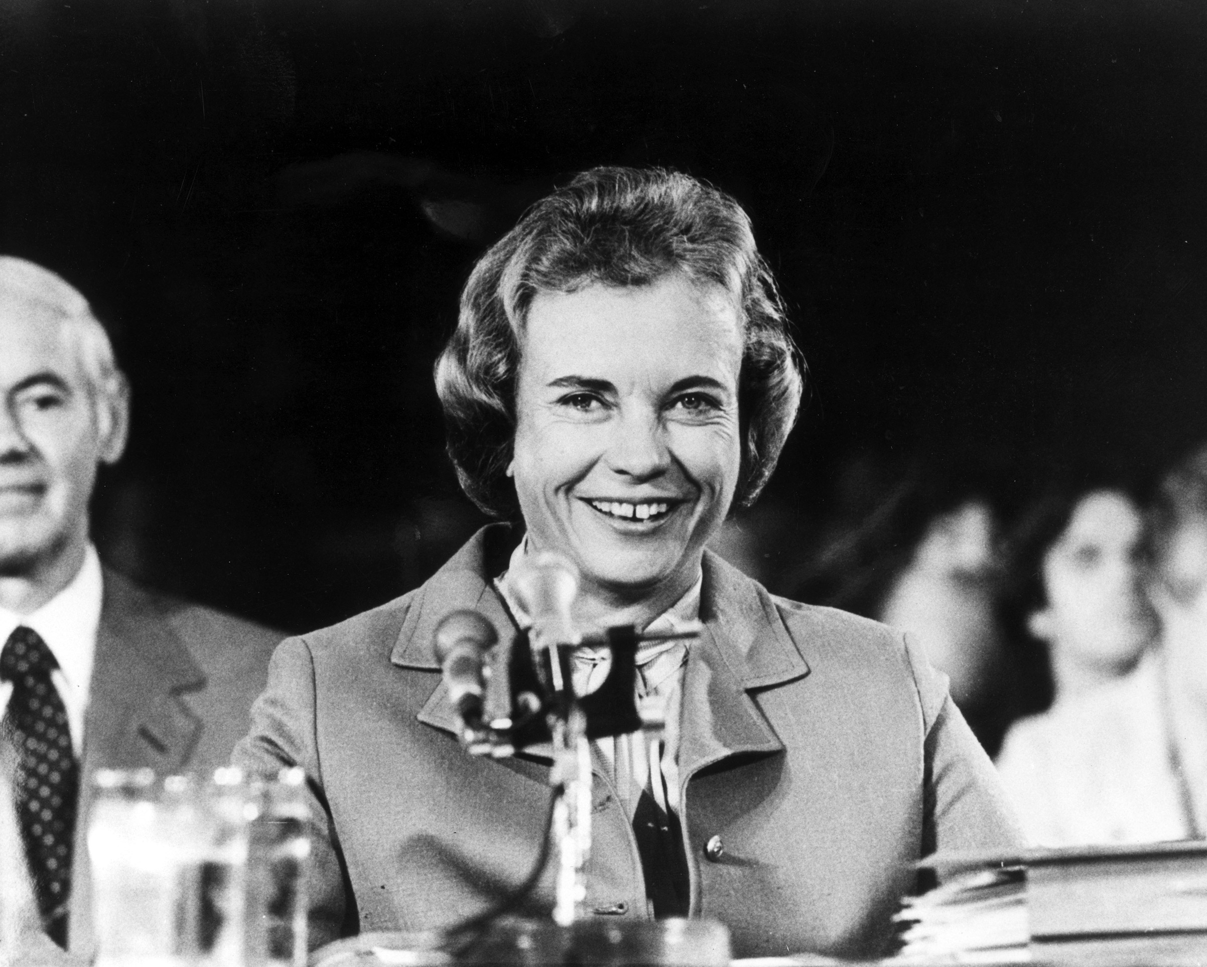 SANDRA DAY O'CONNOR became the first woman to serve on the U.S. Supreme Court in 1981.