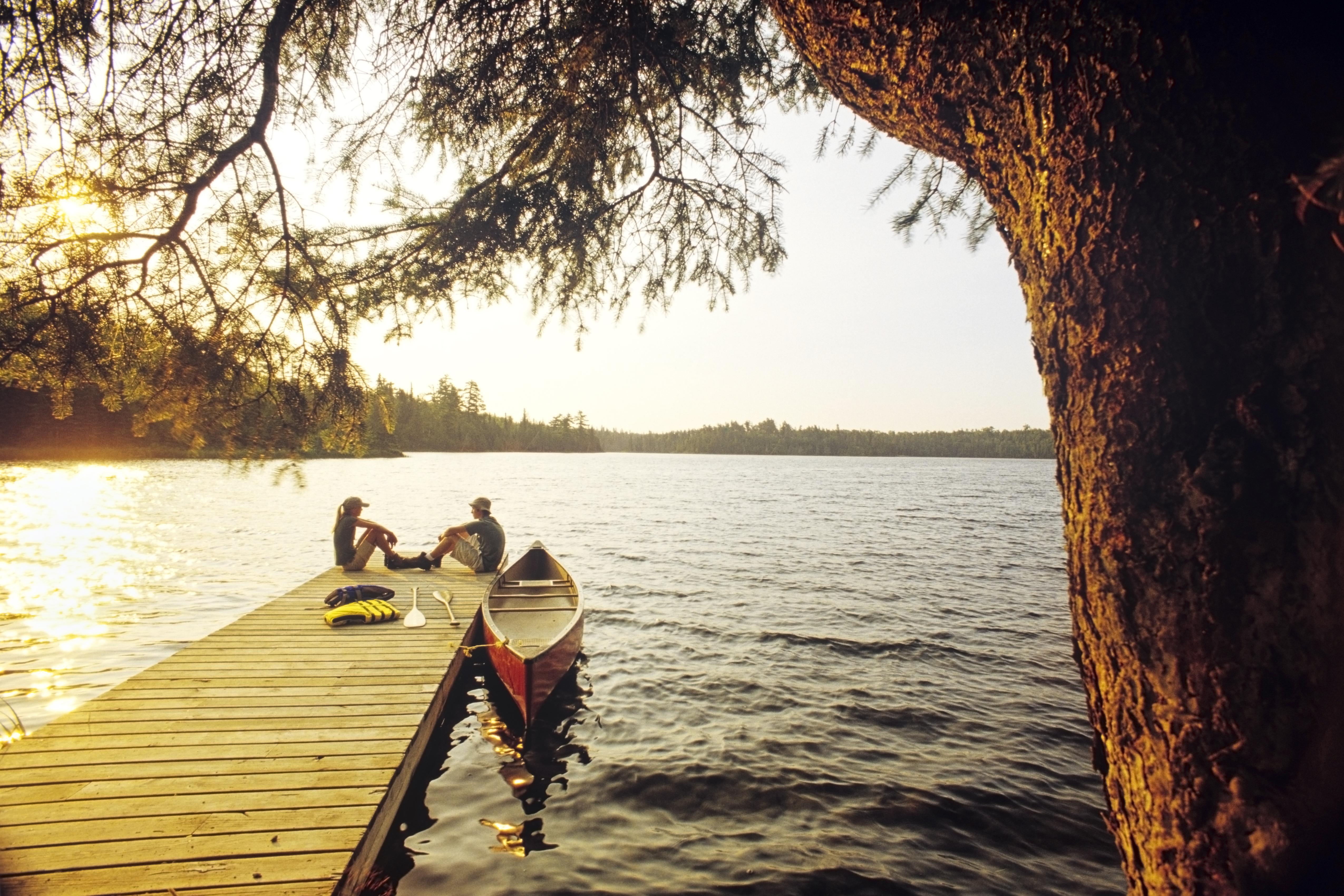 Lyons Lake, Whiteshell Provincial Park, Manitoba, Canada.