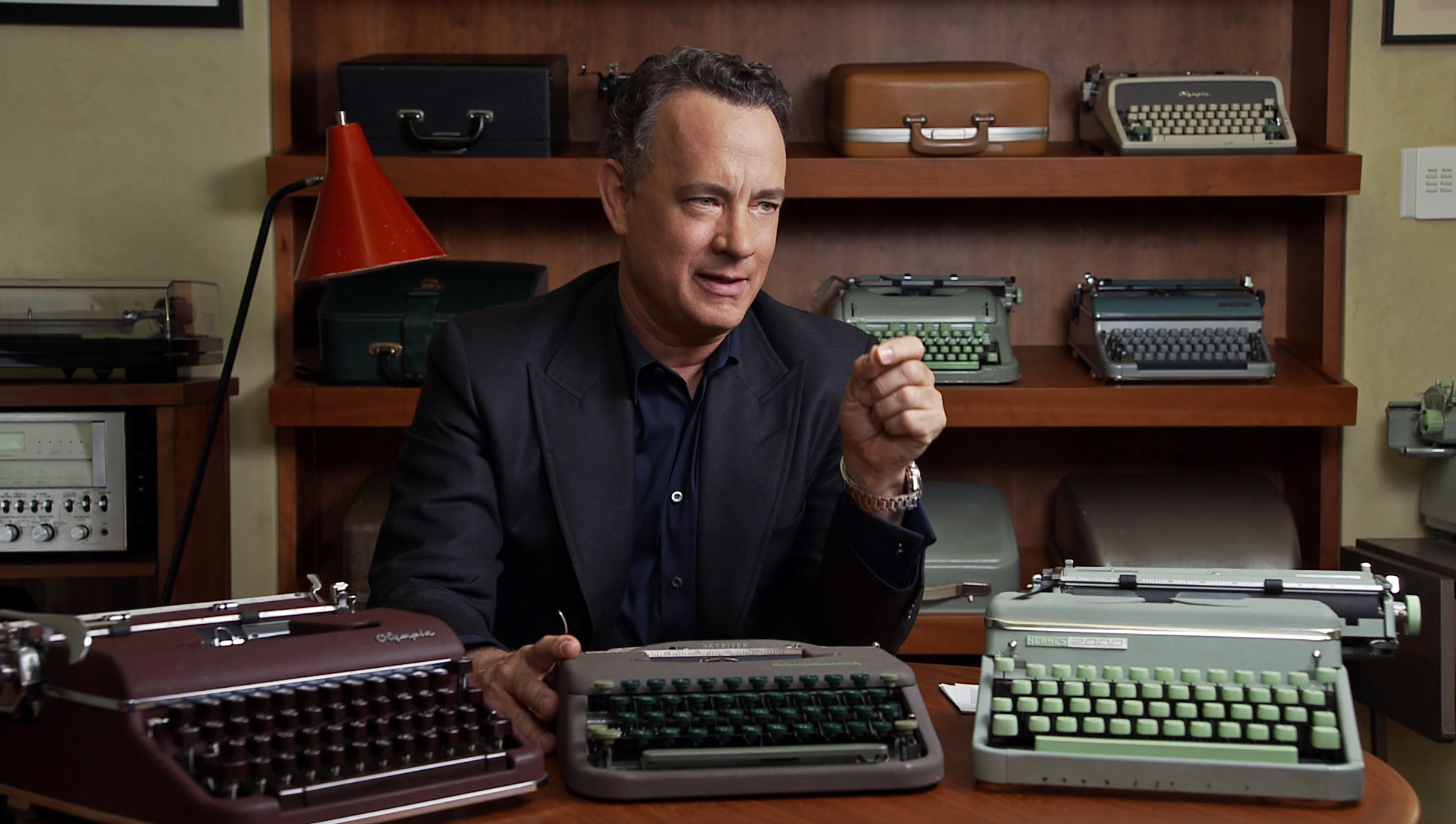 Hanks is certifiably QWERTY